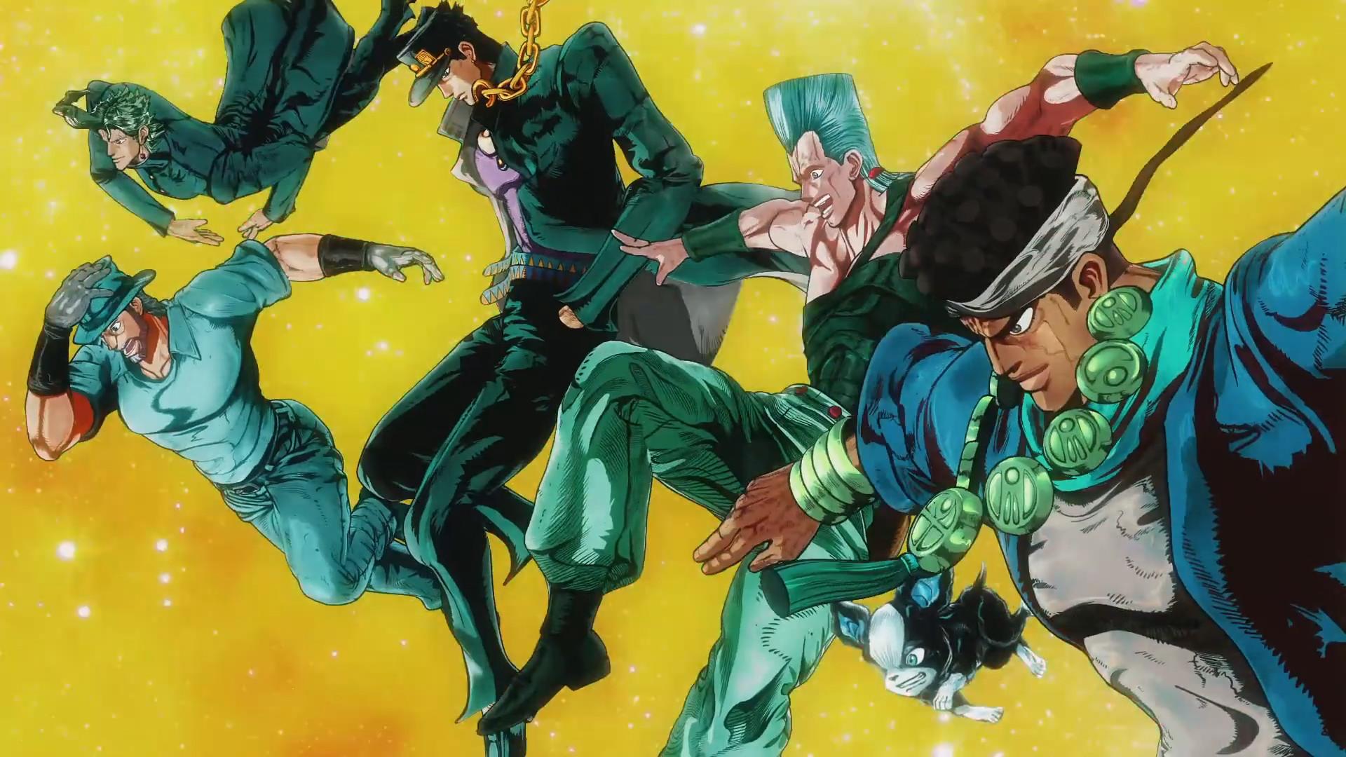 Anime – Jojo's Bizarre Adventure Bakgrund