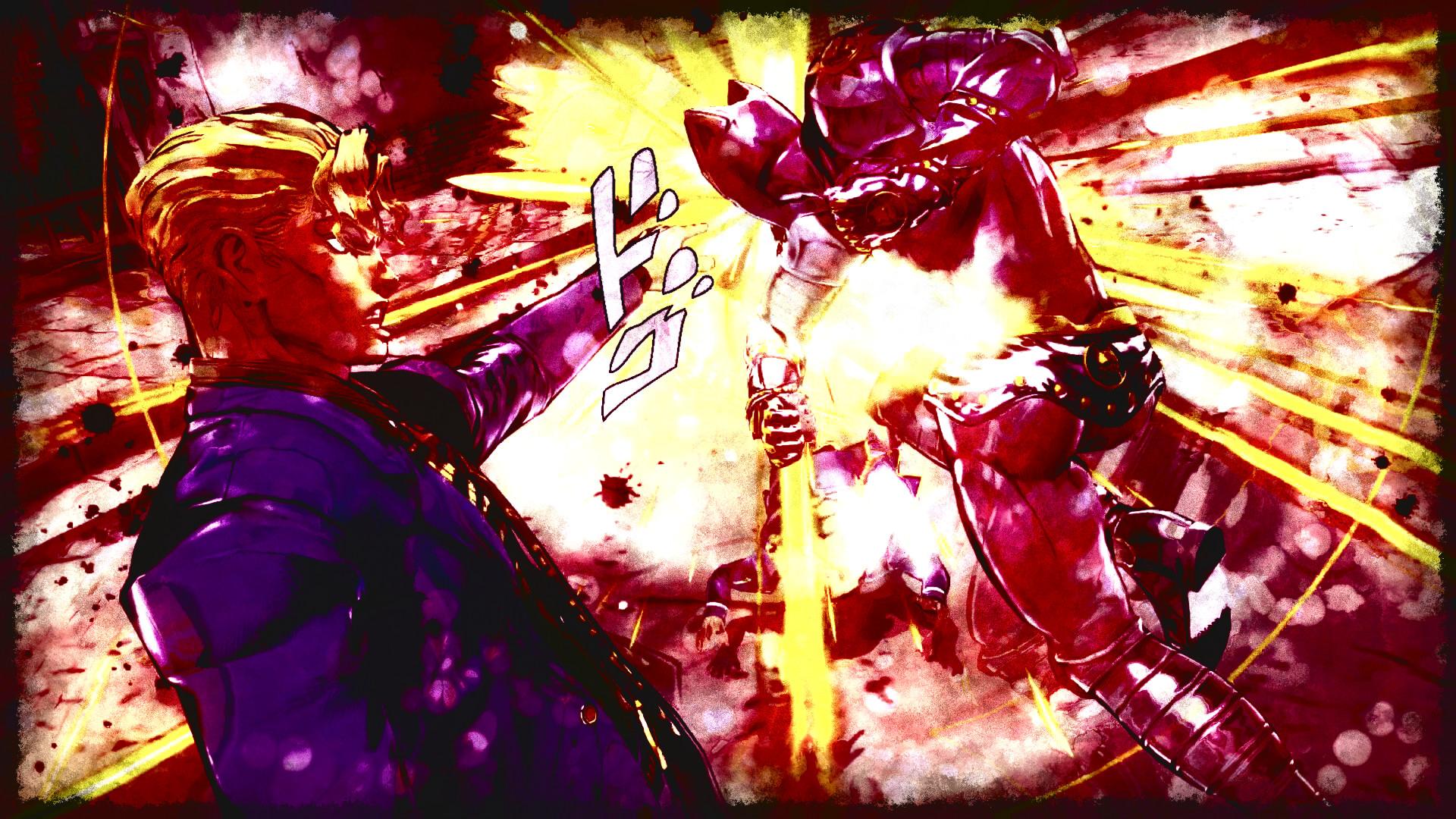 Anime – Jojo's Bizarre Adventure Yoshikage Kira Killer Queen (Jojo's  Bizarre Adventure) Koichi Hirose