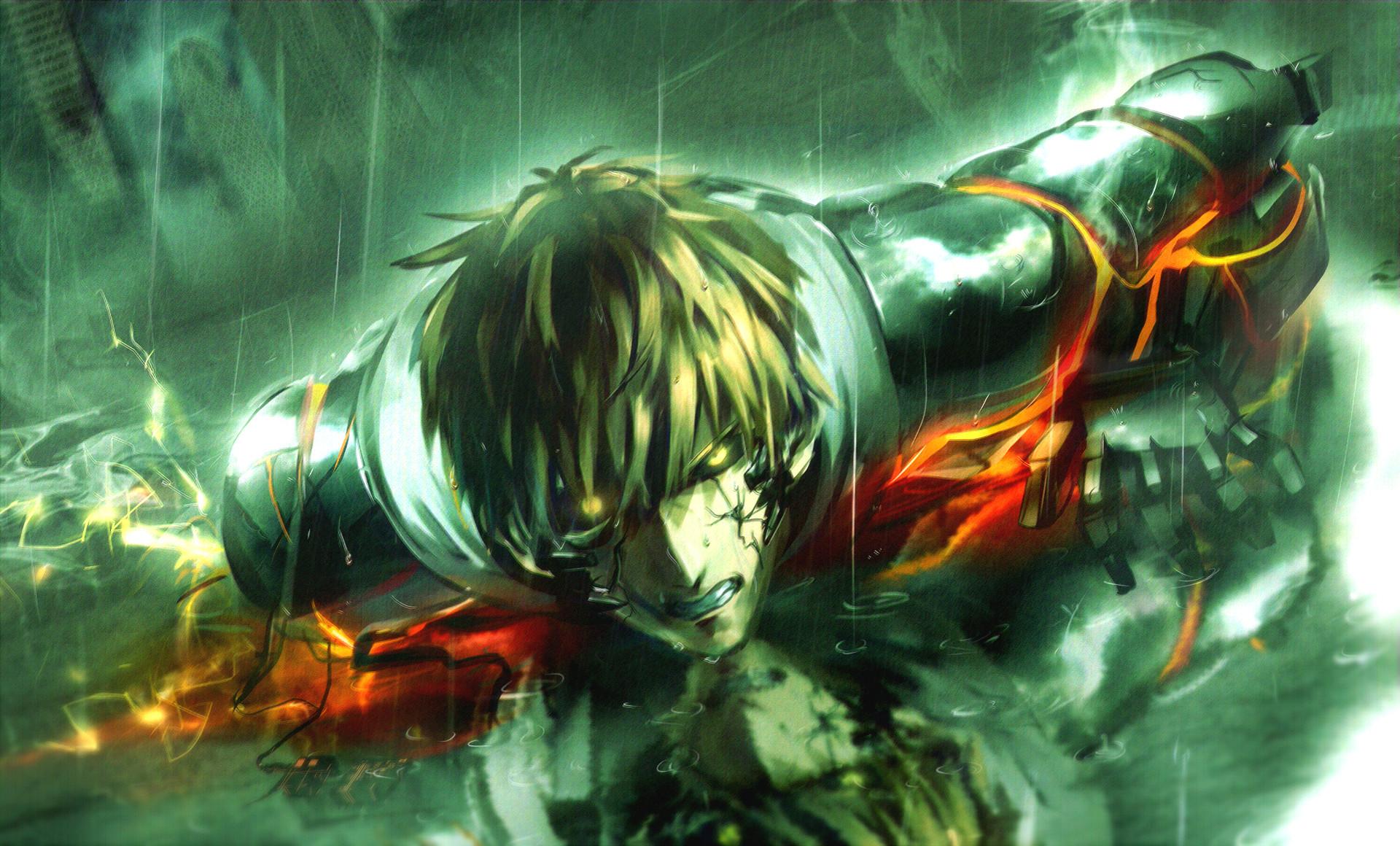 One-Punch Man Saitama · Fond d'écran HD | Arrière-plan ID:666059