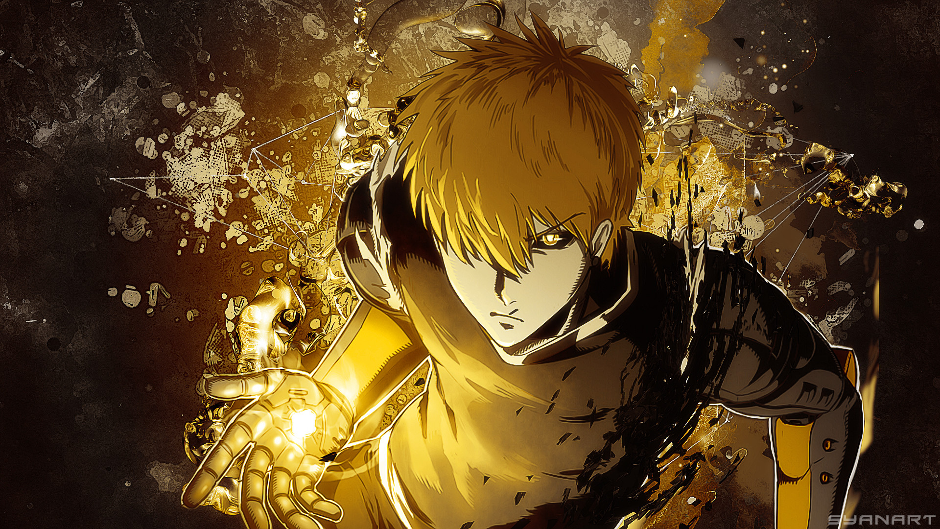 Post Views: 569. Categories: Anime. Tags: genos, one punch man wallpaper …