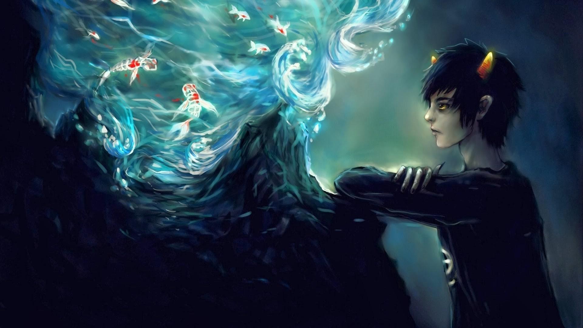 Homestuck, Water, Fantasy Art Wallpapers HD / Desktop and Mobile Backgrounds