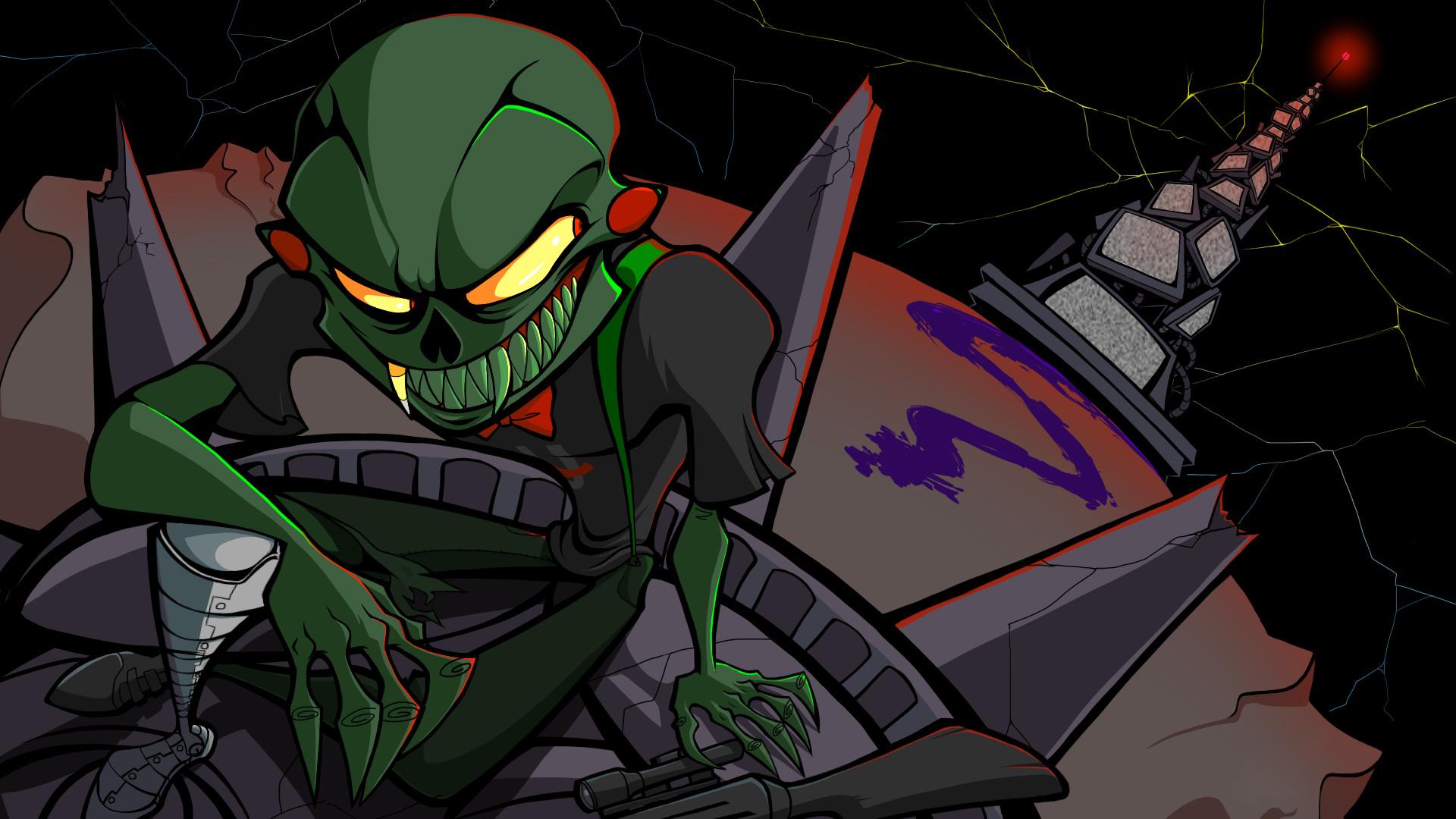 … Homestuck sci-fi alien wallpaper …