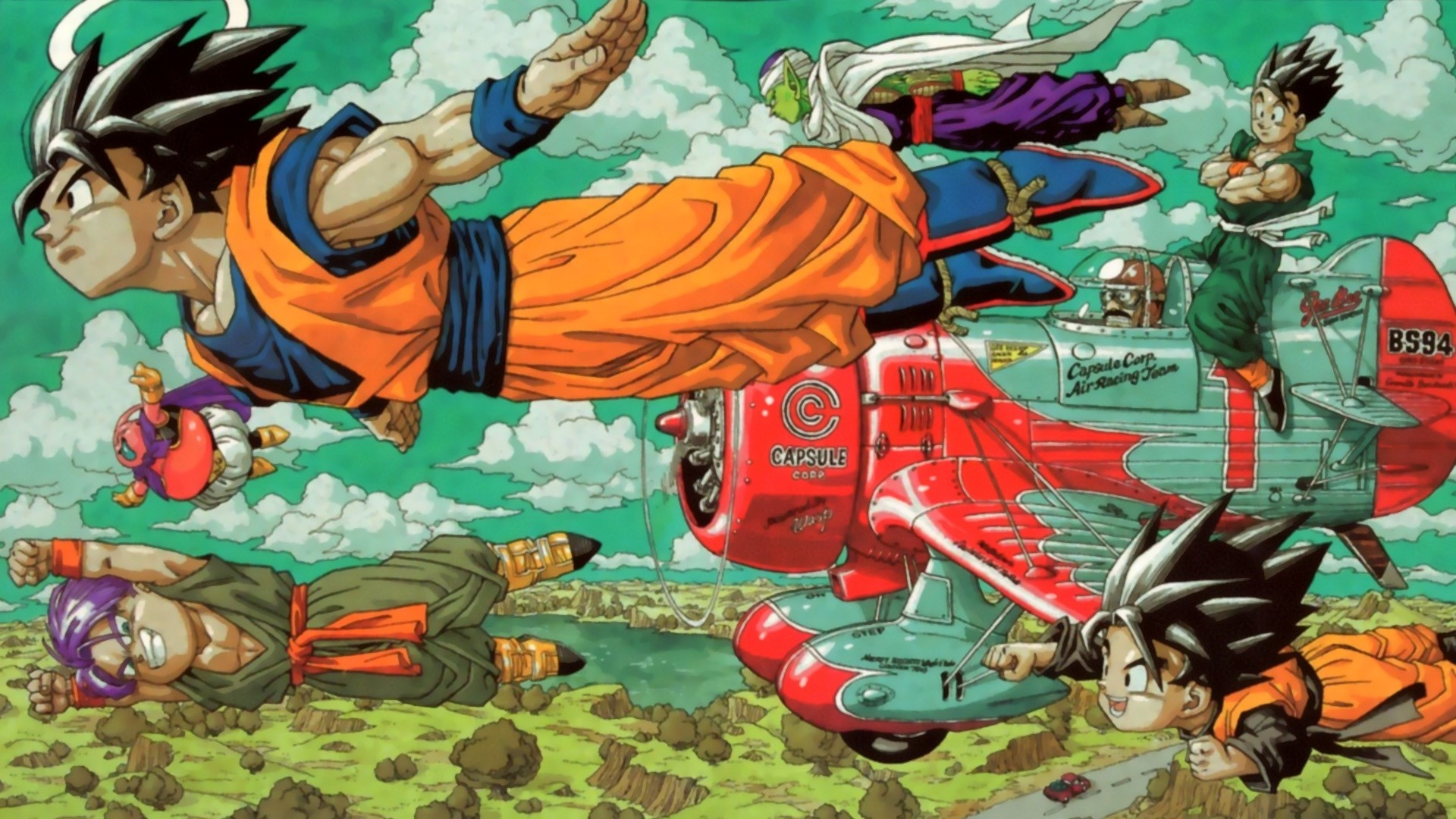 Dragon Ball Z Photo.   Akira Toriyama Art Style   Pinterest   Dragon ball,  Dragons and Hd wallpaper