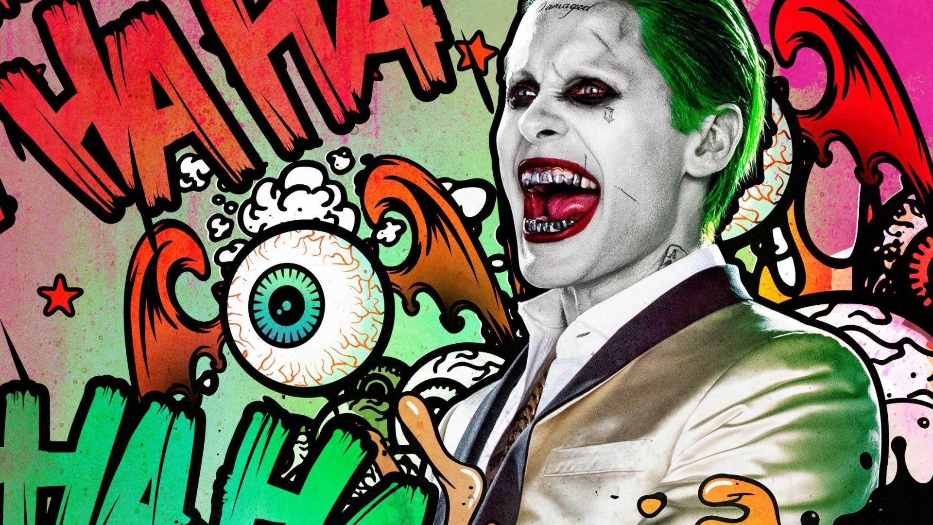 Katana and Joker using their signature powers, weapons and skills.  Decorated Your Resolution: 1024×1024 3840×2160 Wallpaper suicide squad, harley  quinn …