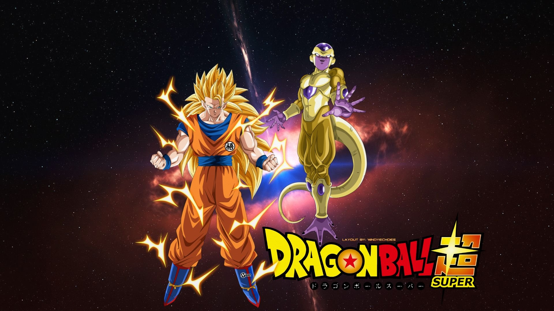 … Golden Frieza And SSJ 3 Goku – Tournament Of Power by WindyEchoes