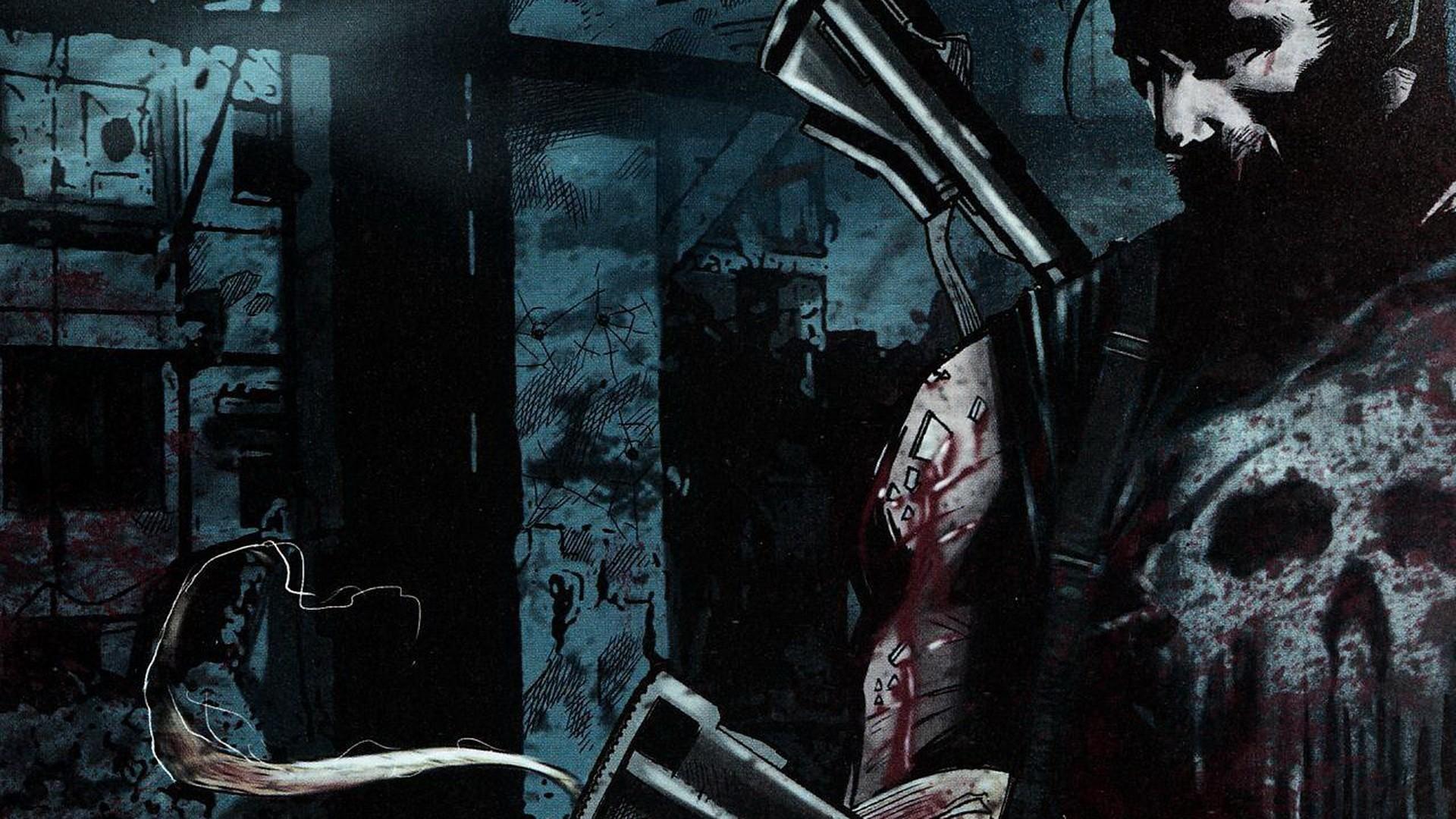The Punisher Comic Wallpapers | WallpapersIn4k.net