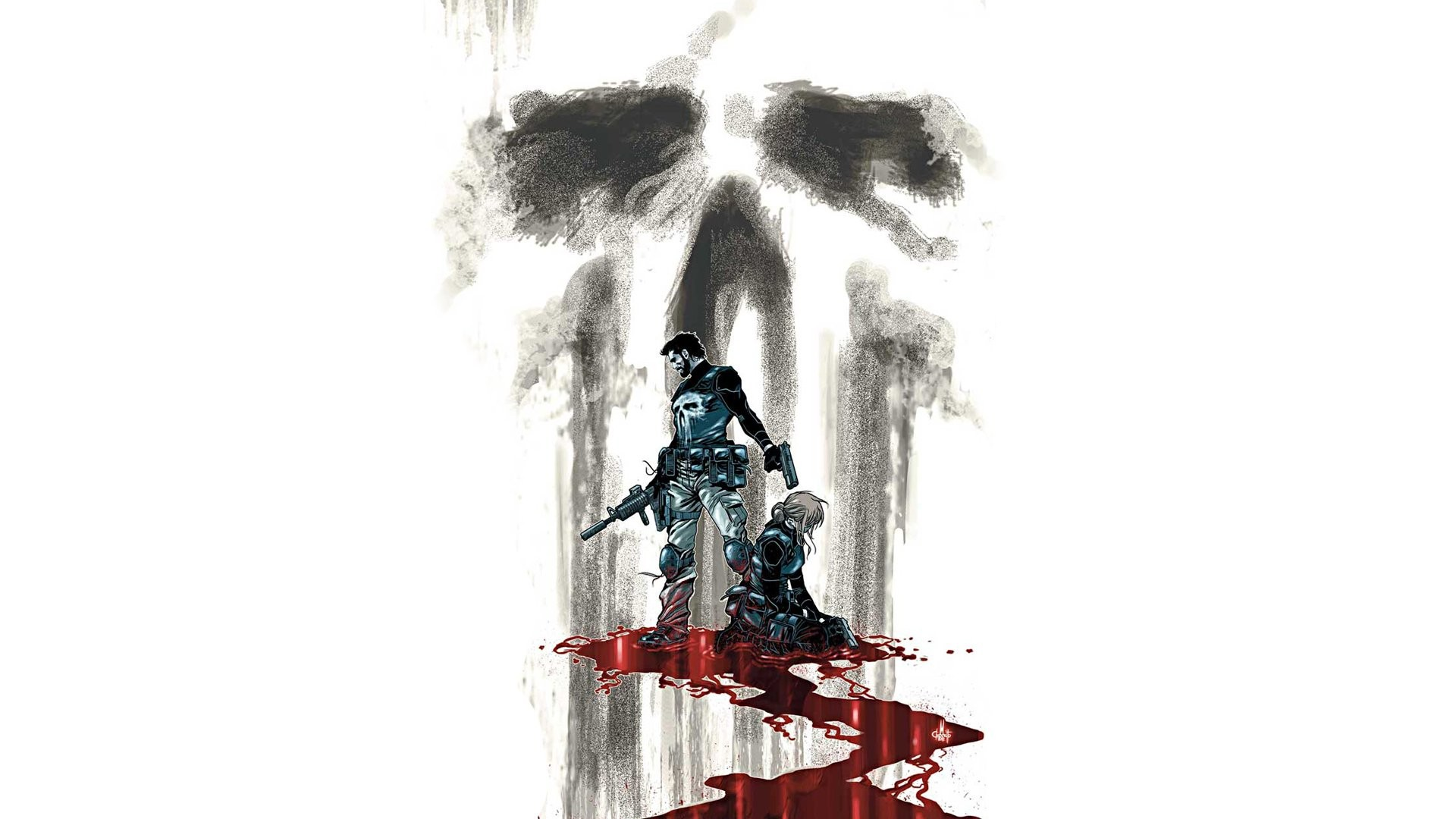 Comics – The Punisher Punisher Frank Castle Wallpaper