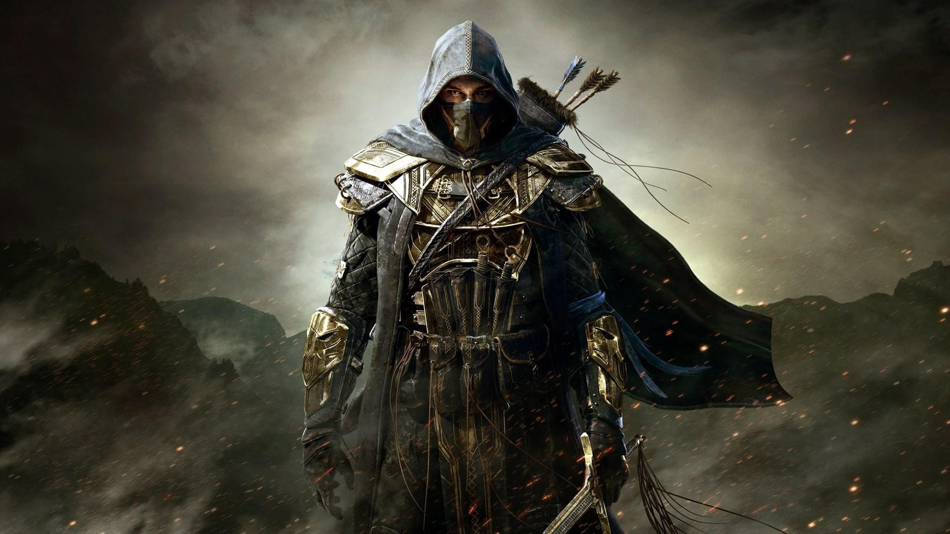 the elder scrolls online ranger spark mask …
