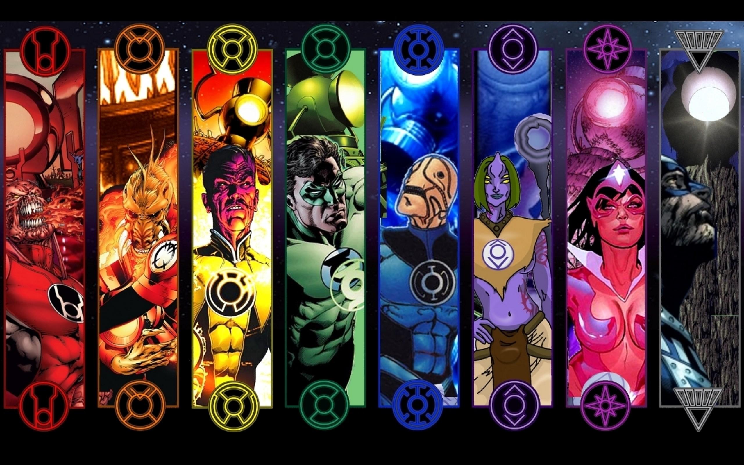 Agent Orange Atrocitus Black Lantern Corps Blue Lantern Dc Comics Green  Lantern Indigo Tribe Red Lantern Corps free iPhone or Android Full HD  wallpaper.