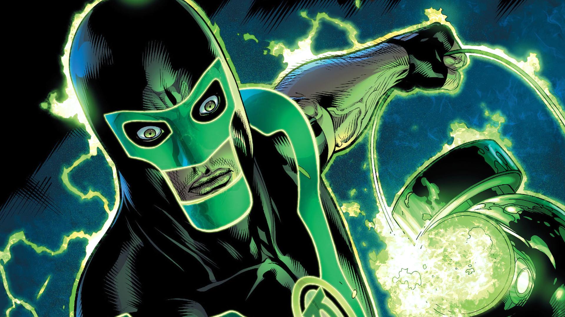 Green Lantern Comic Page · Green Lantern Wallpaper