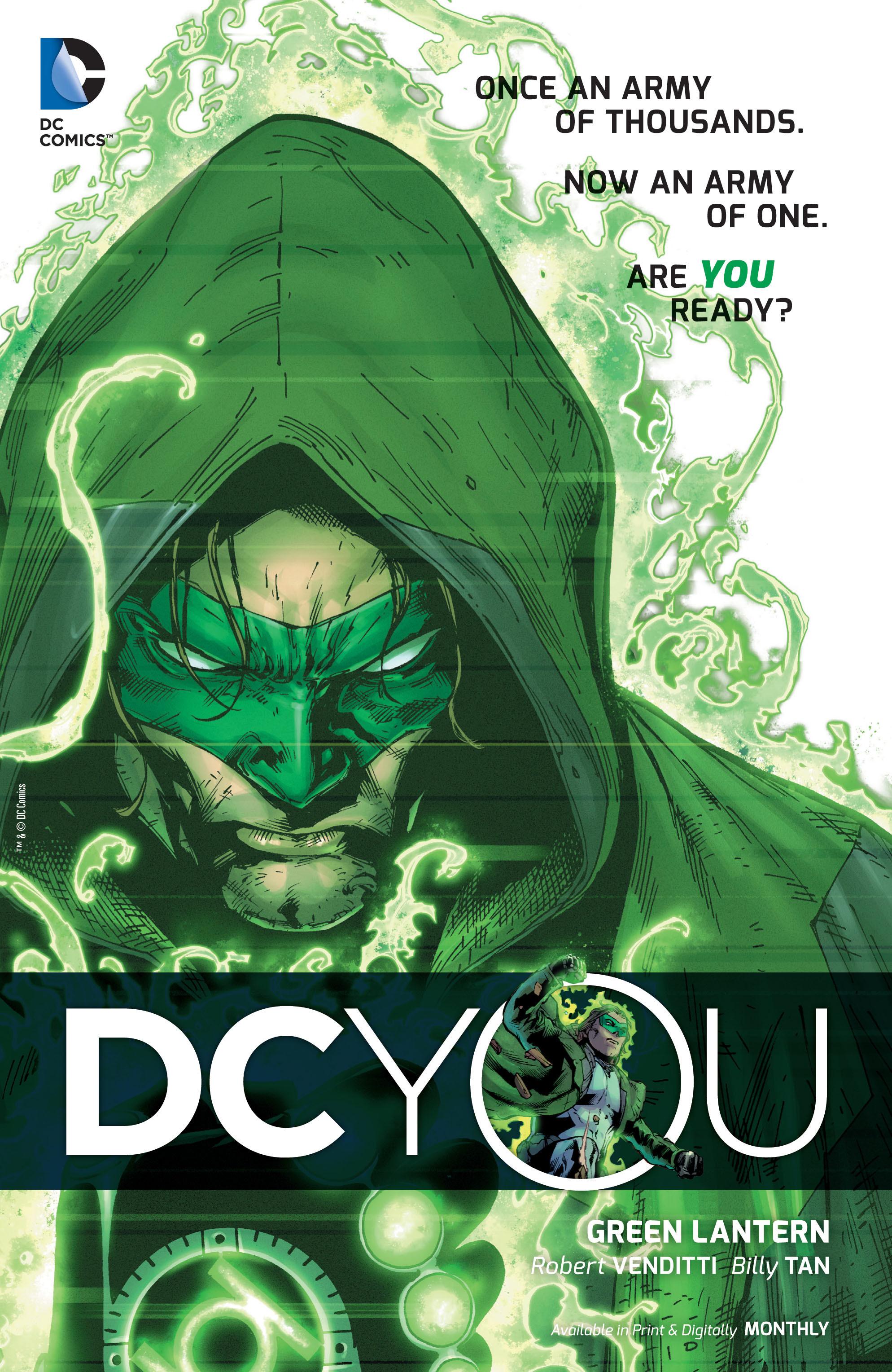 DCYOU GREEN LANTERN, RENEGADE HAL JORDAN ARE YOU READY? DCCOMICSNEWS.COM