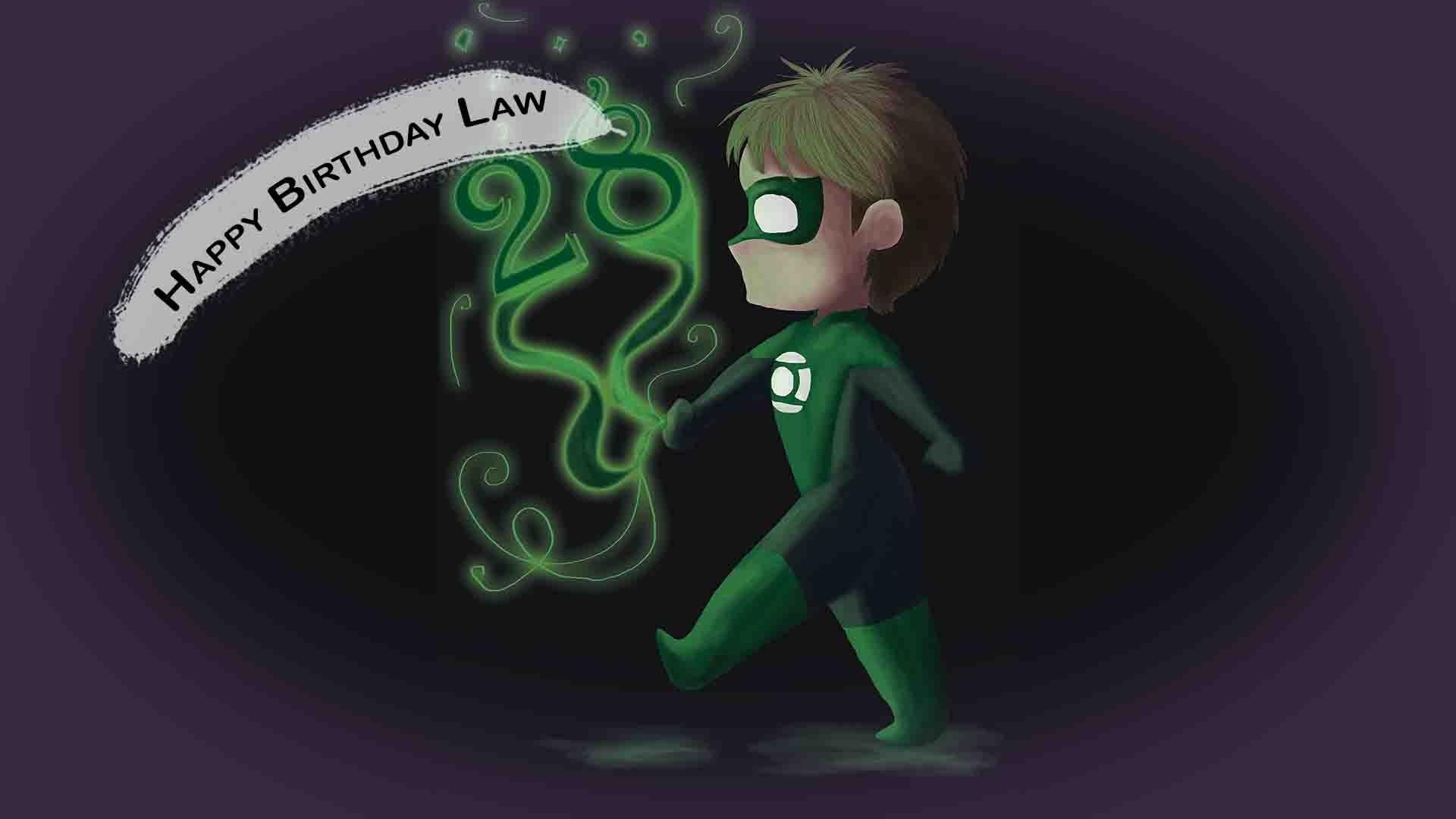 Birthday Art for Law // Green Lantern Chibi