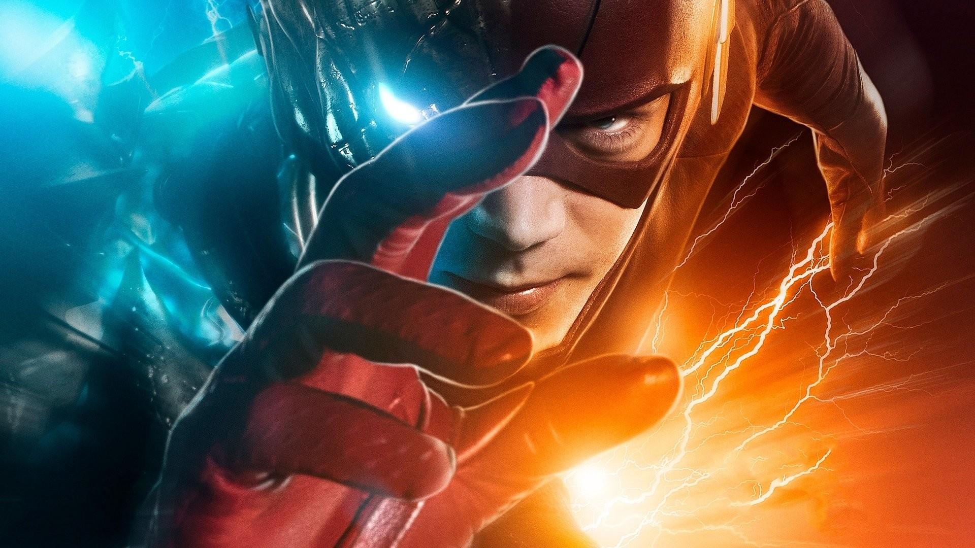 TV Show – The Flash (2014) Flash Grant Gustin Barry Allen Wallpaper