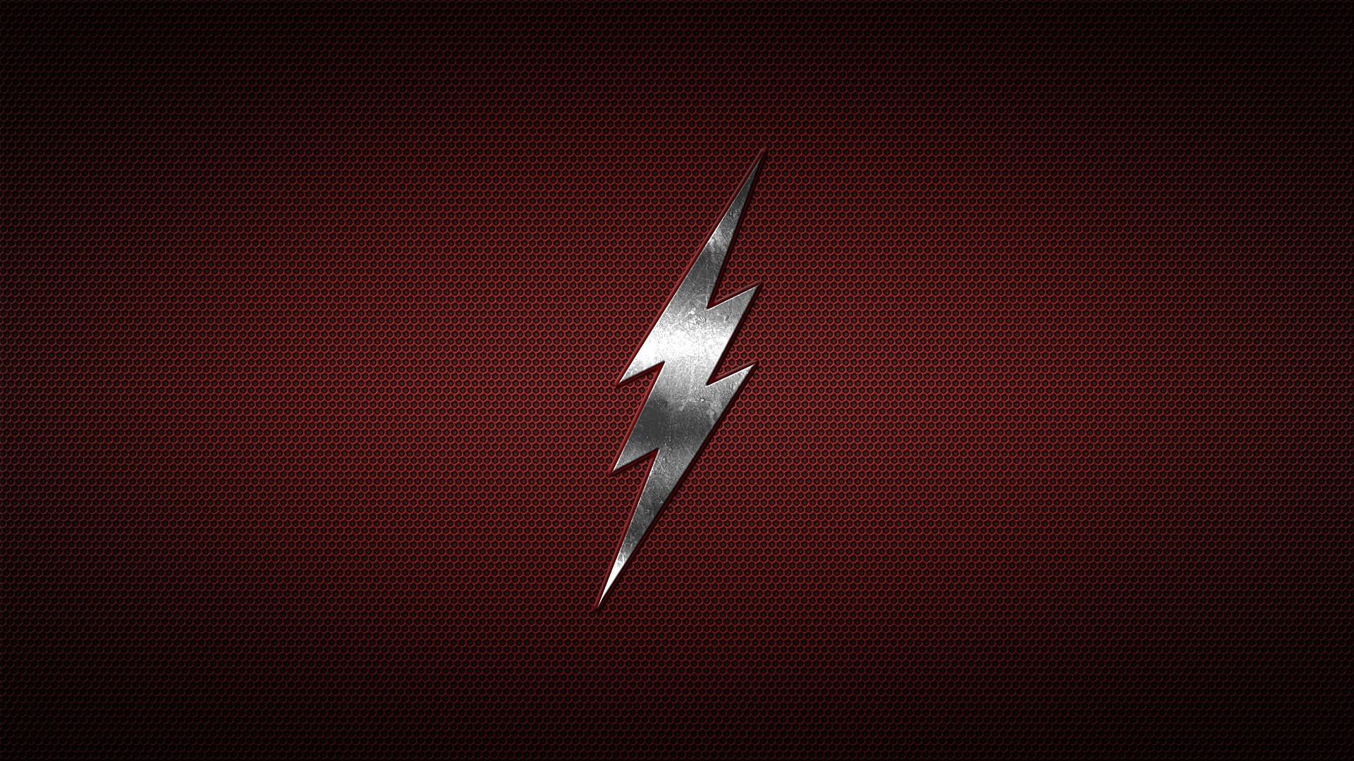 The Flash, Flash, Logo, Minimalism, Blitz