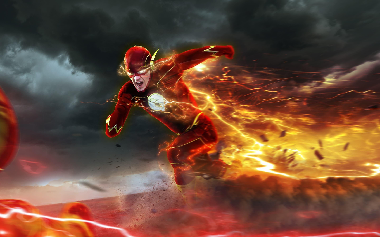 running Barry Allen – The Flash TV Series