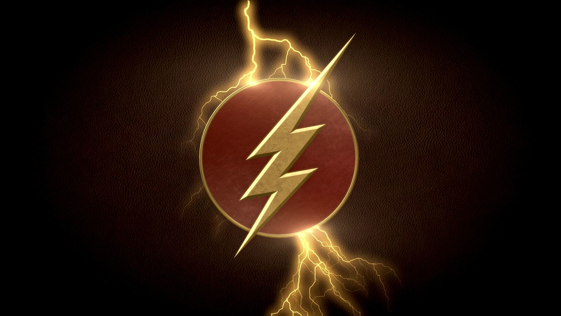 User BigRockDJ posted an awesome Flash logo wallpaper to r/DCcomics .