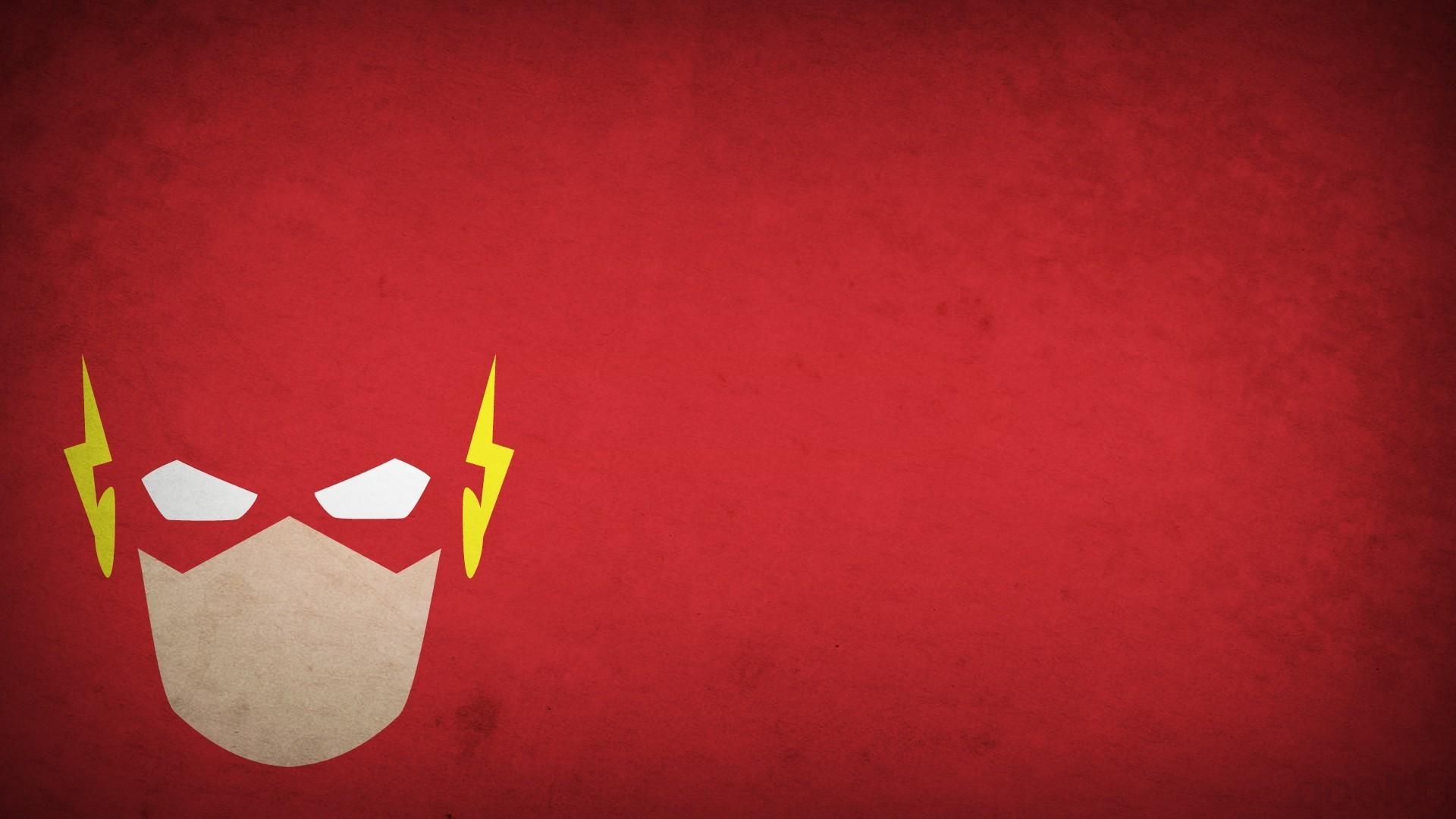 simple Background, Comics, DC Comics, Heroes, Flash, Blo0p, Minimalism,