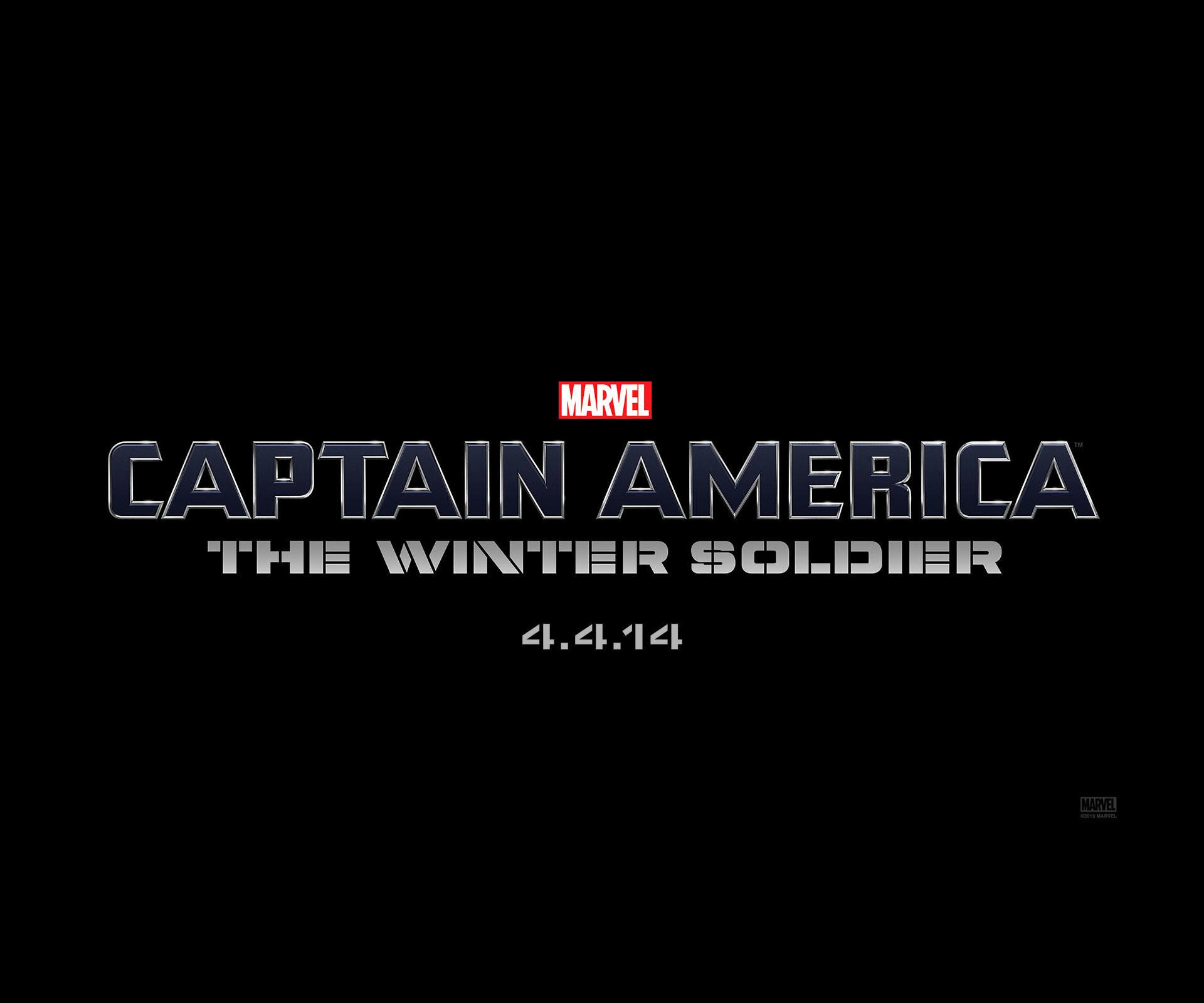 Captain America The Winter Soldier Logo Wallpaper