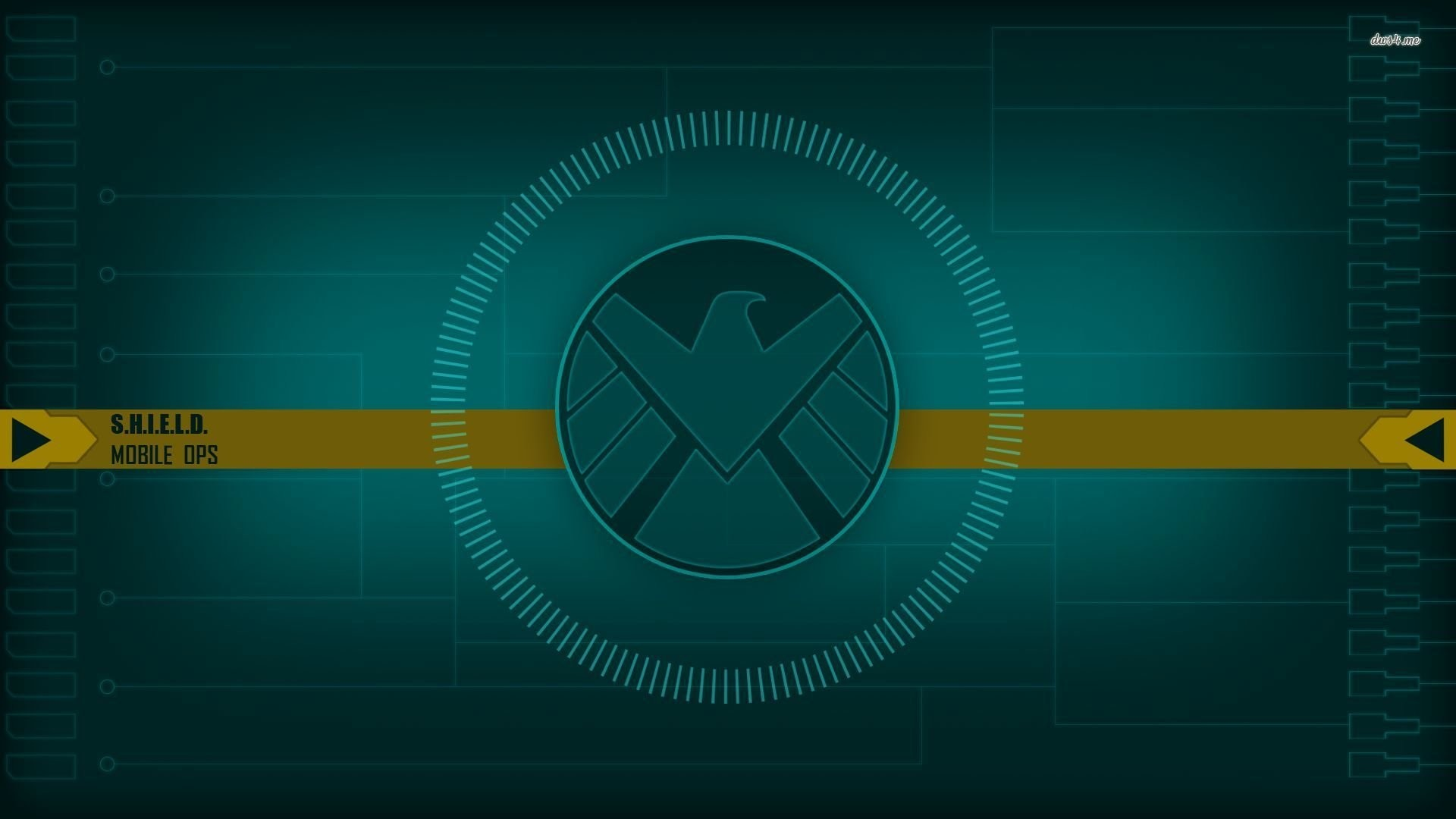 Marvel's Agents of S.H.I.E.L.D. Logo Wallpaper Wide or HD | TV .
