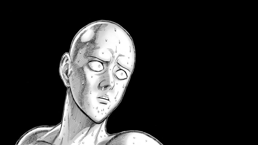 Saitama Stupid Face – One Punch Man HD Wallpaper