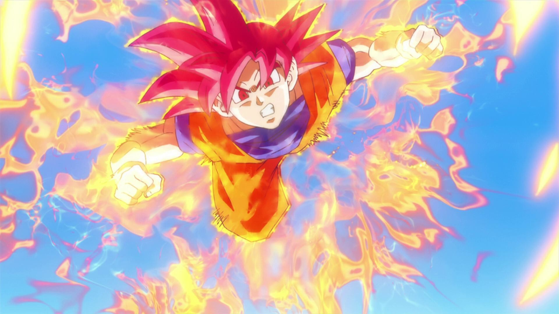 Dragon Ball Z Wallpaper Goku Super Saiyan God Wallpapers Photo .