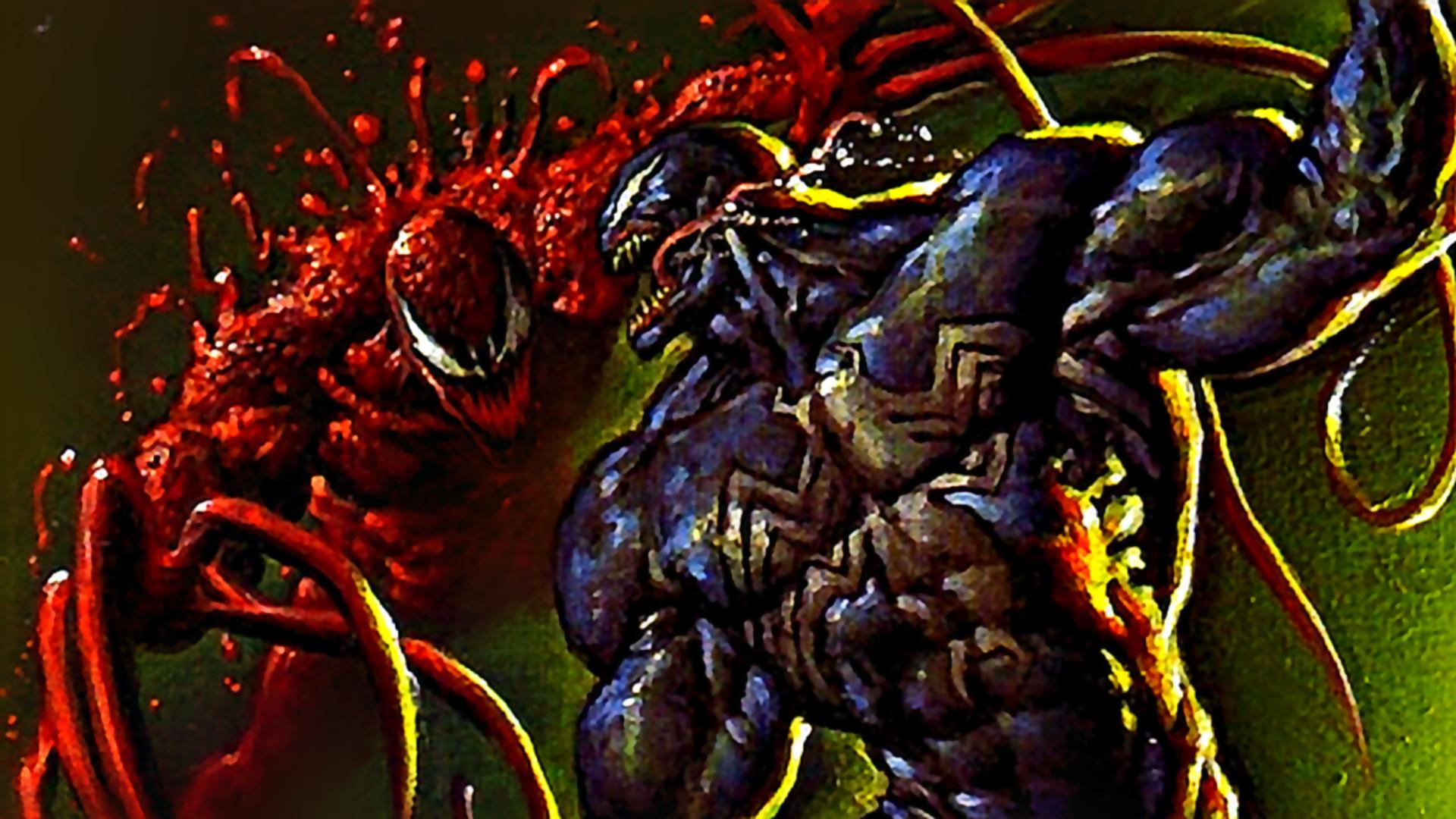 Carnage Versus Venom Wallpaper Image HD taken from Carnage .