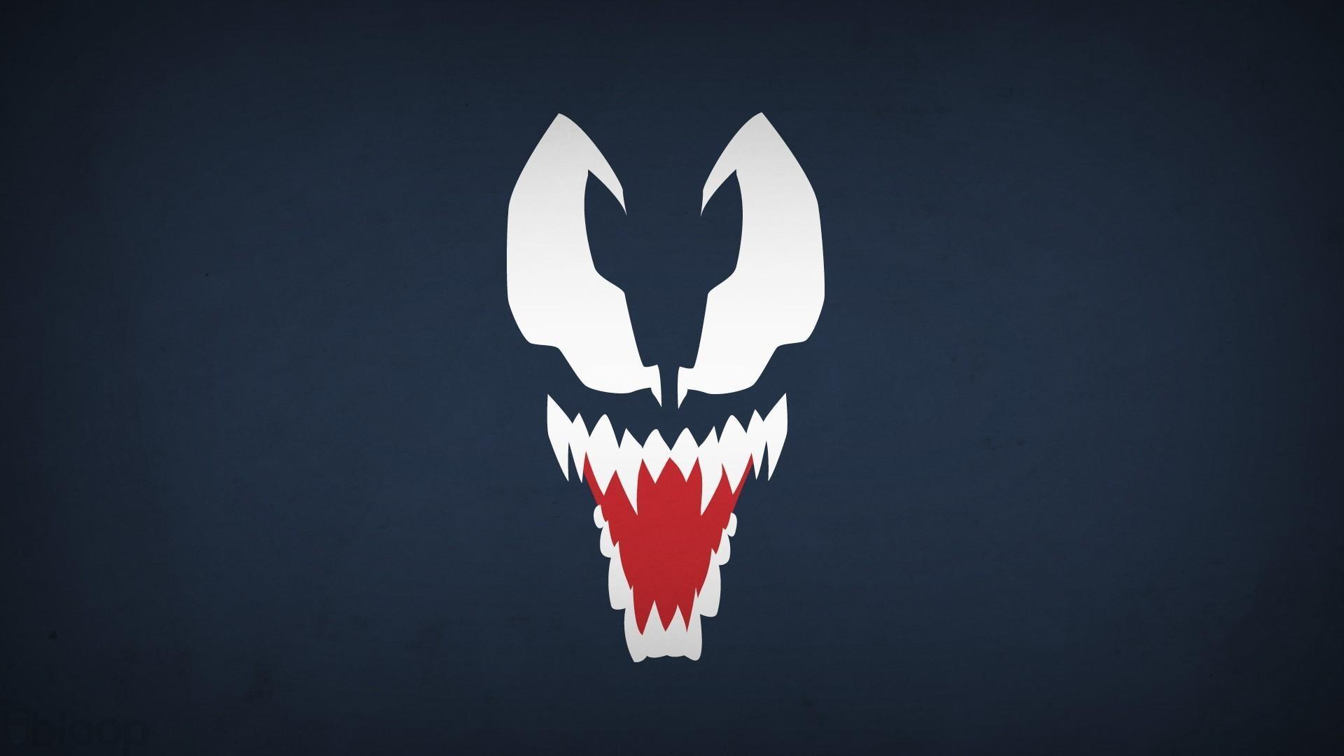 Venom marvel comics navy blue background villians blo0p wallpaper .