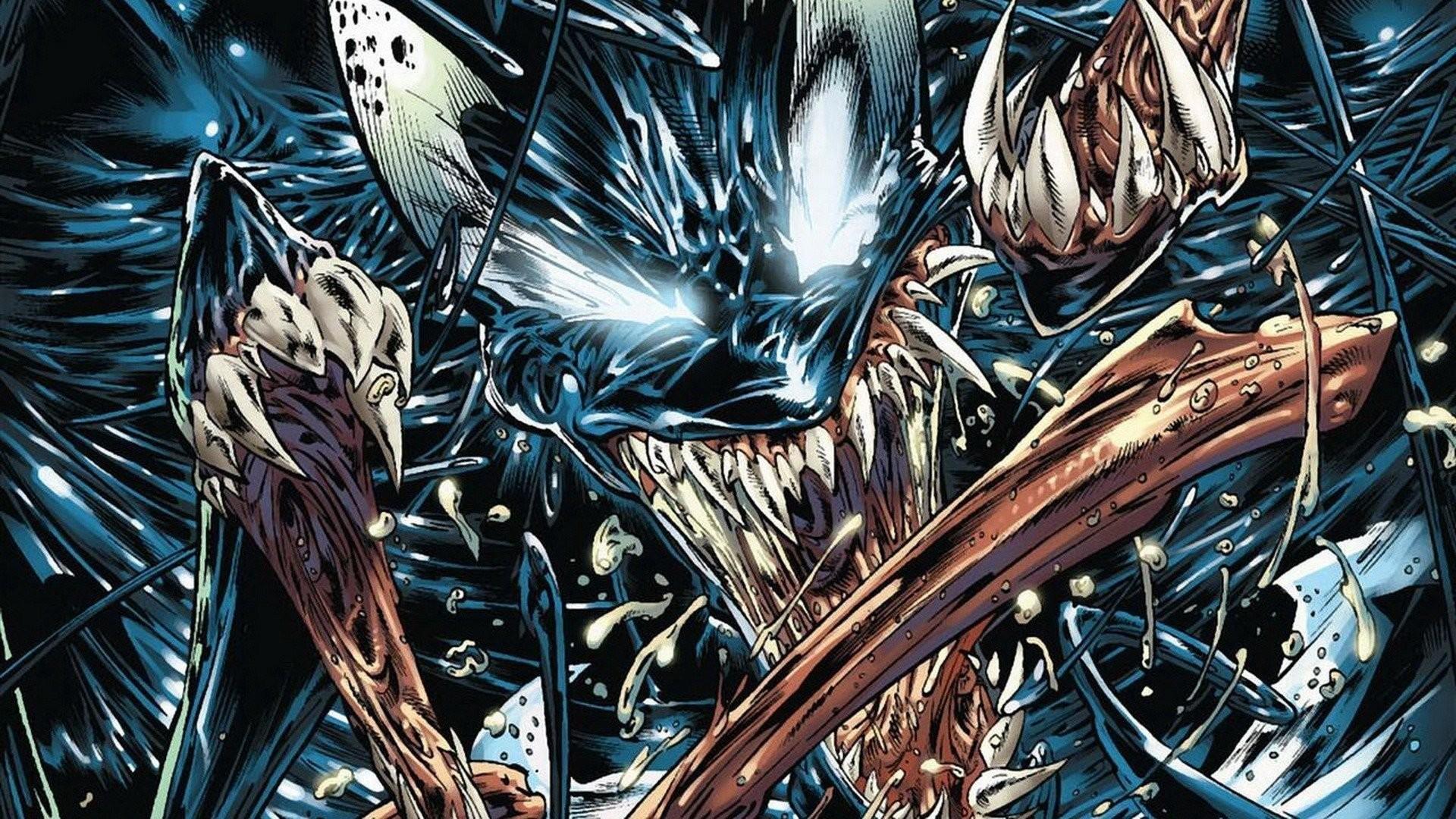 Digital Art Artwork Fantasy Comics Venom Marvel Villain