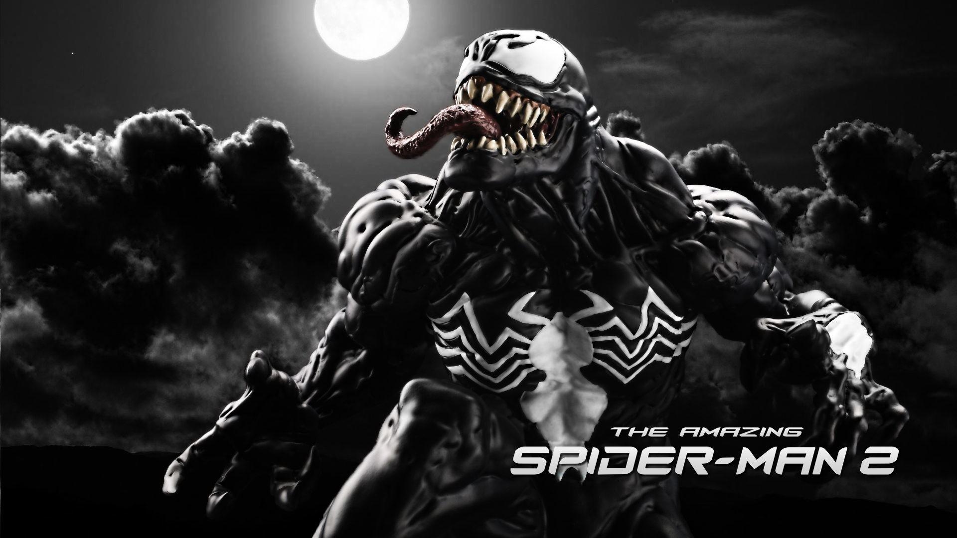 The Amazingpider Man 2 Venom 4K Uhd Wallpaper