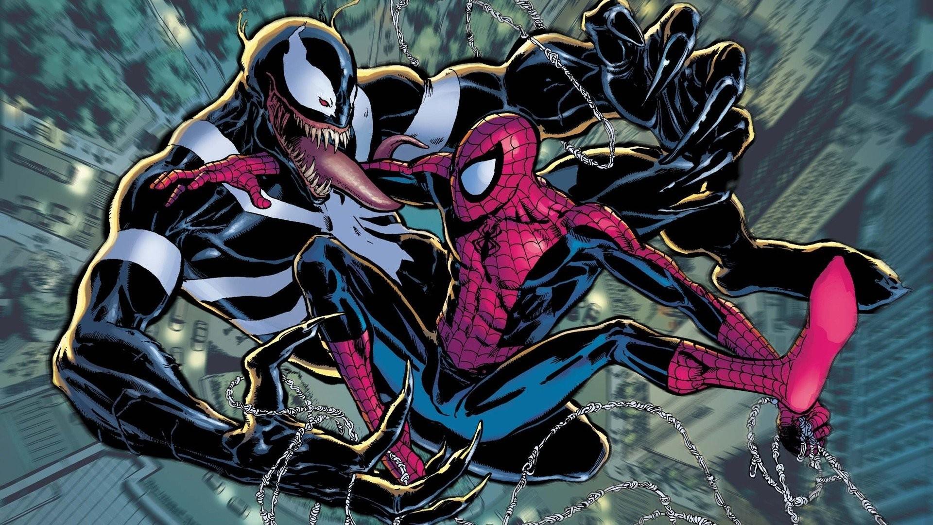 Venom, Spider Man, Comics, Marvel Comics Wallpapers HD / Desktop .