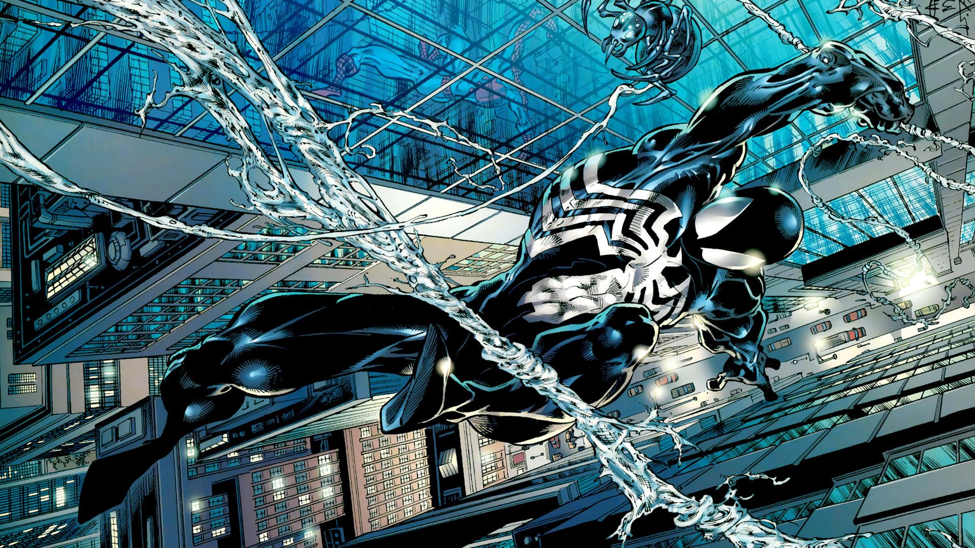 Spider-man Venom HD wallpaper thumb