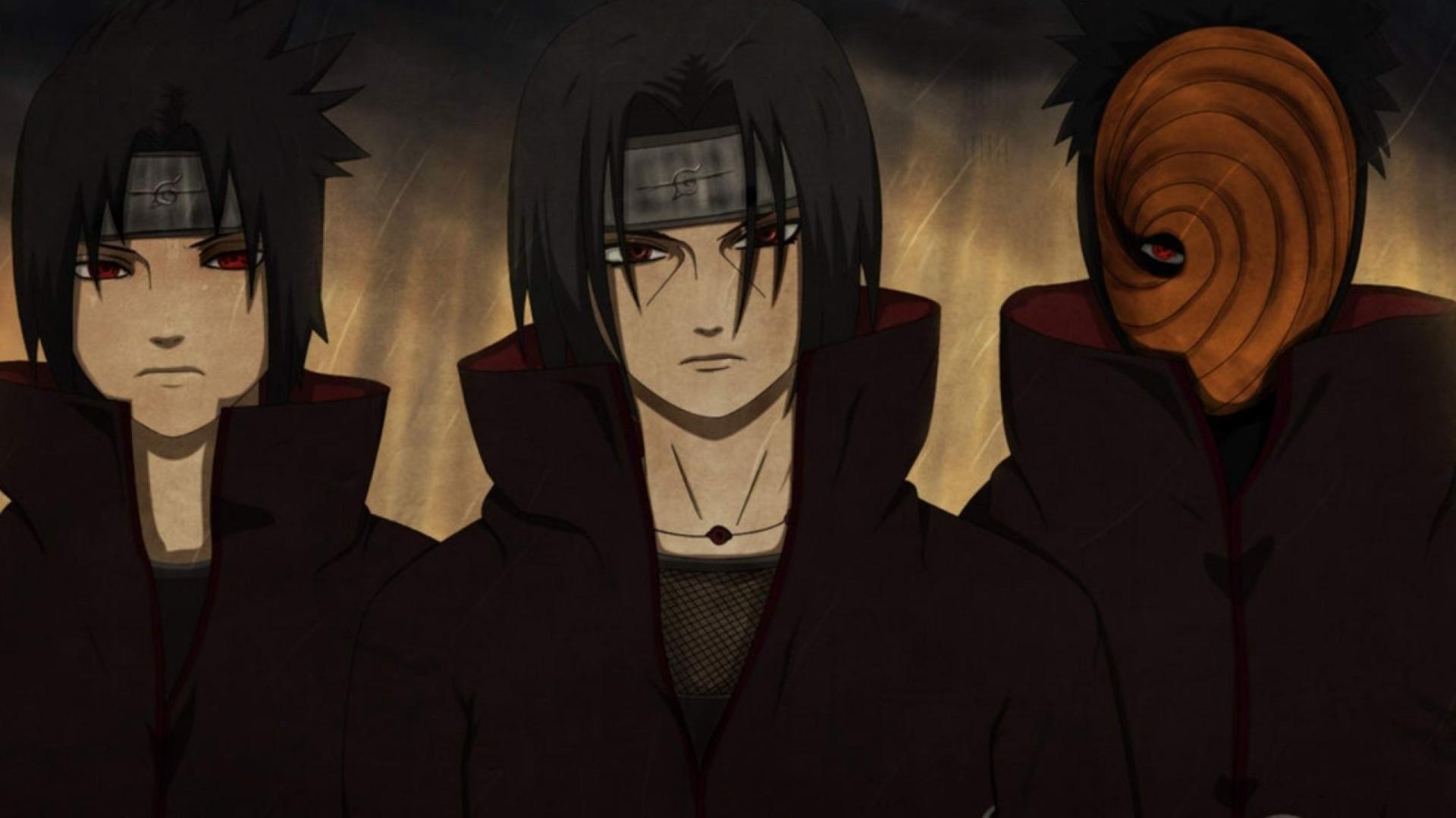 Sasuke And Itachi Uchiha