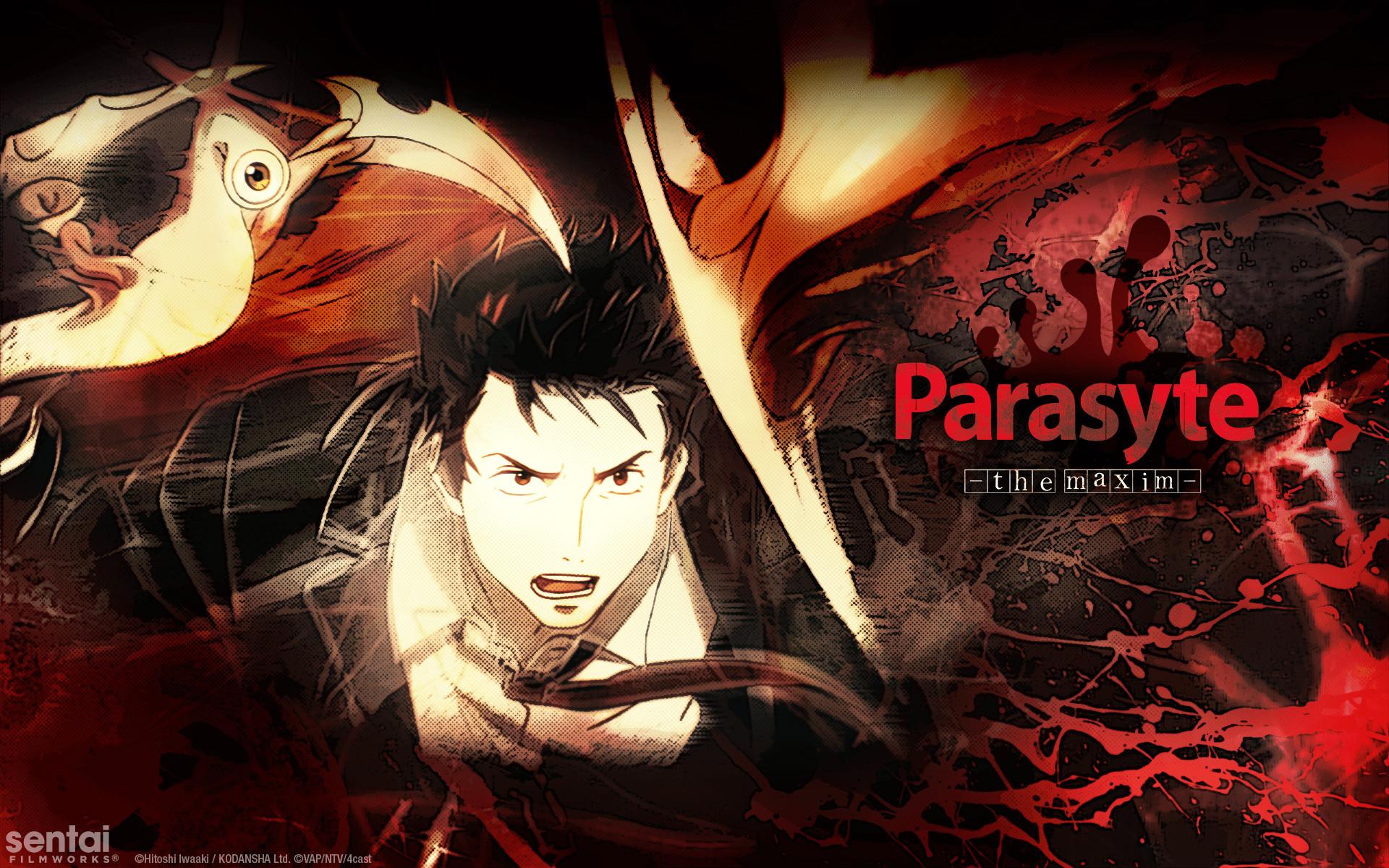 Parasyte -the maxim-] Official Shinichi & Migi wallpaper from Sentai .