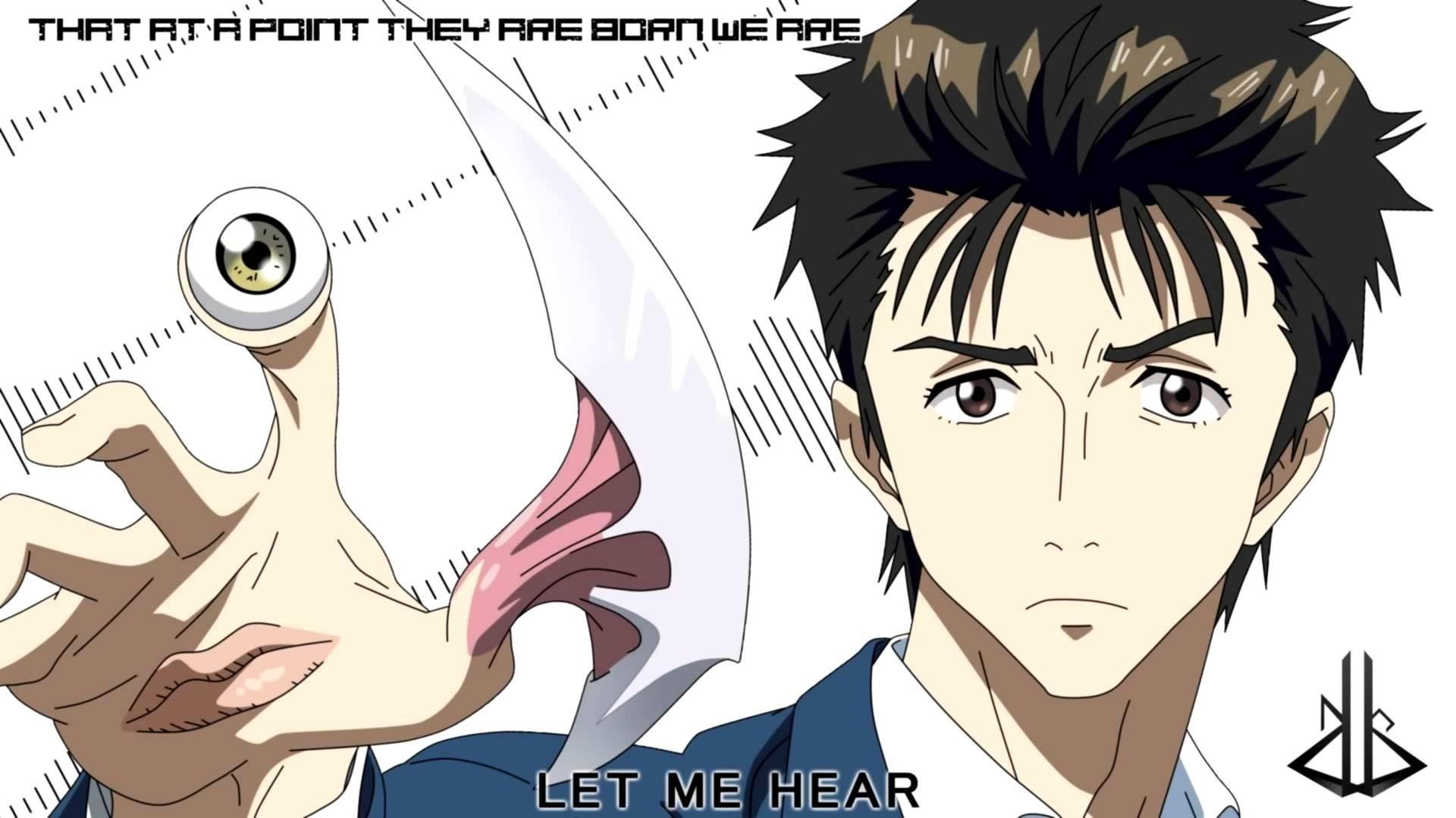 Anime Parasyte -the maxim- anime Izumi Shinichi Migi