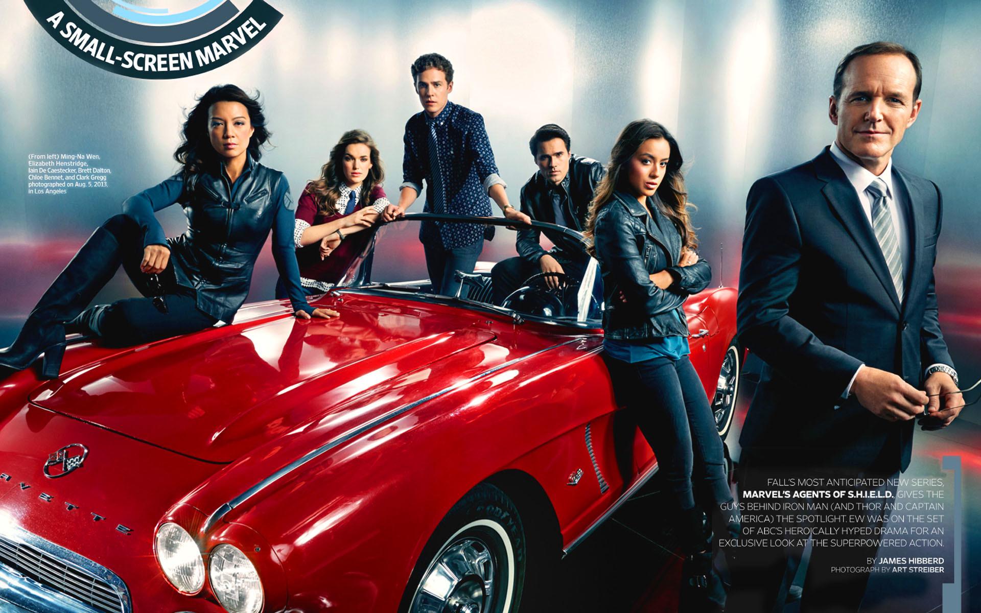 Marvel Agents of SHIELD HD Wallpaper