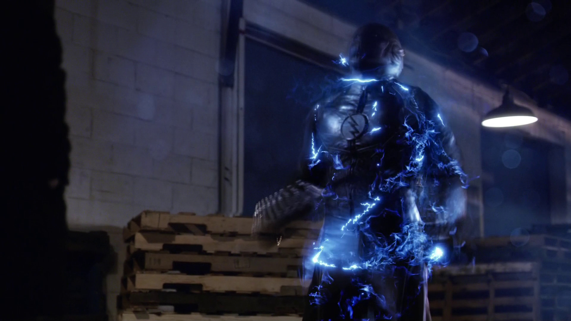 The Flash. Zoom shoots up with speed force