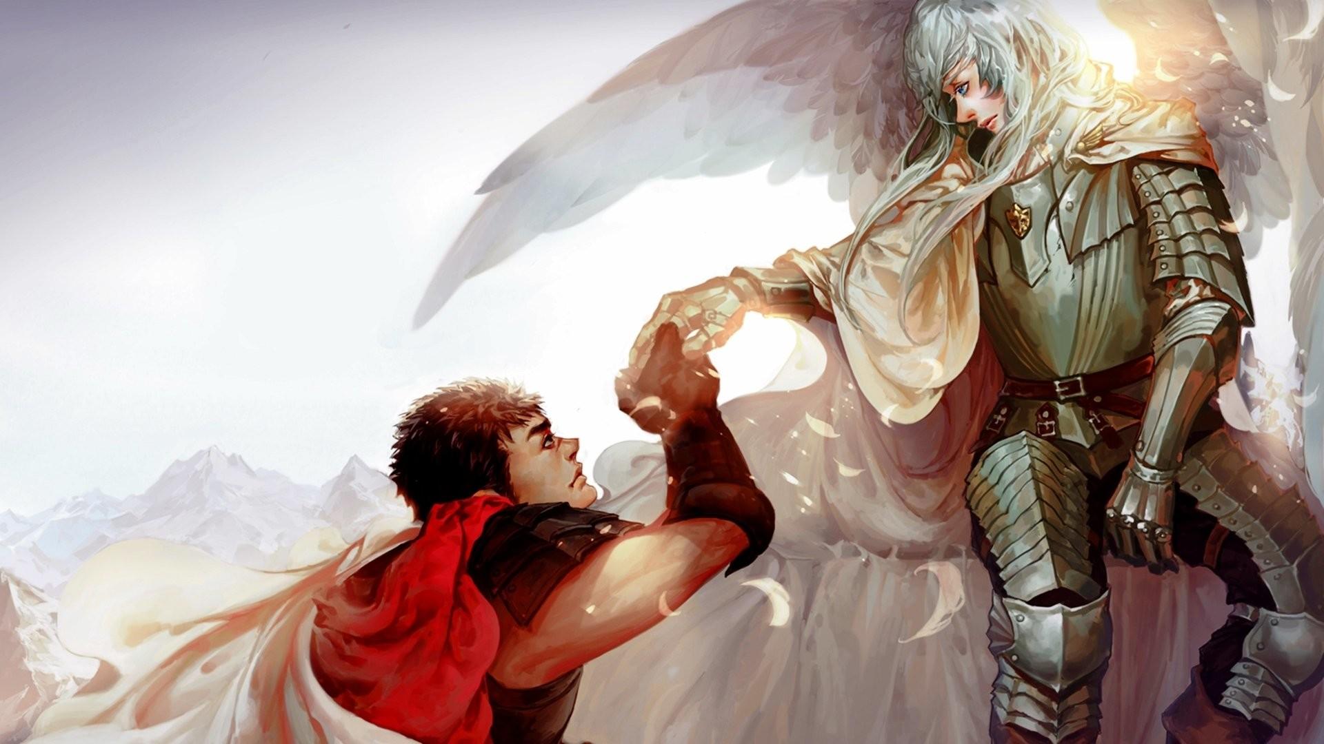 Anime – Berserk Guts (Berserk) Griffith (Berserk) Wallpaper
