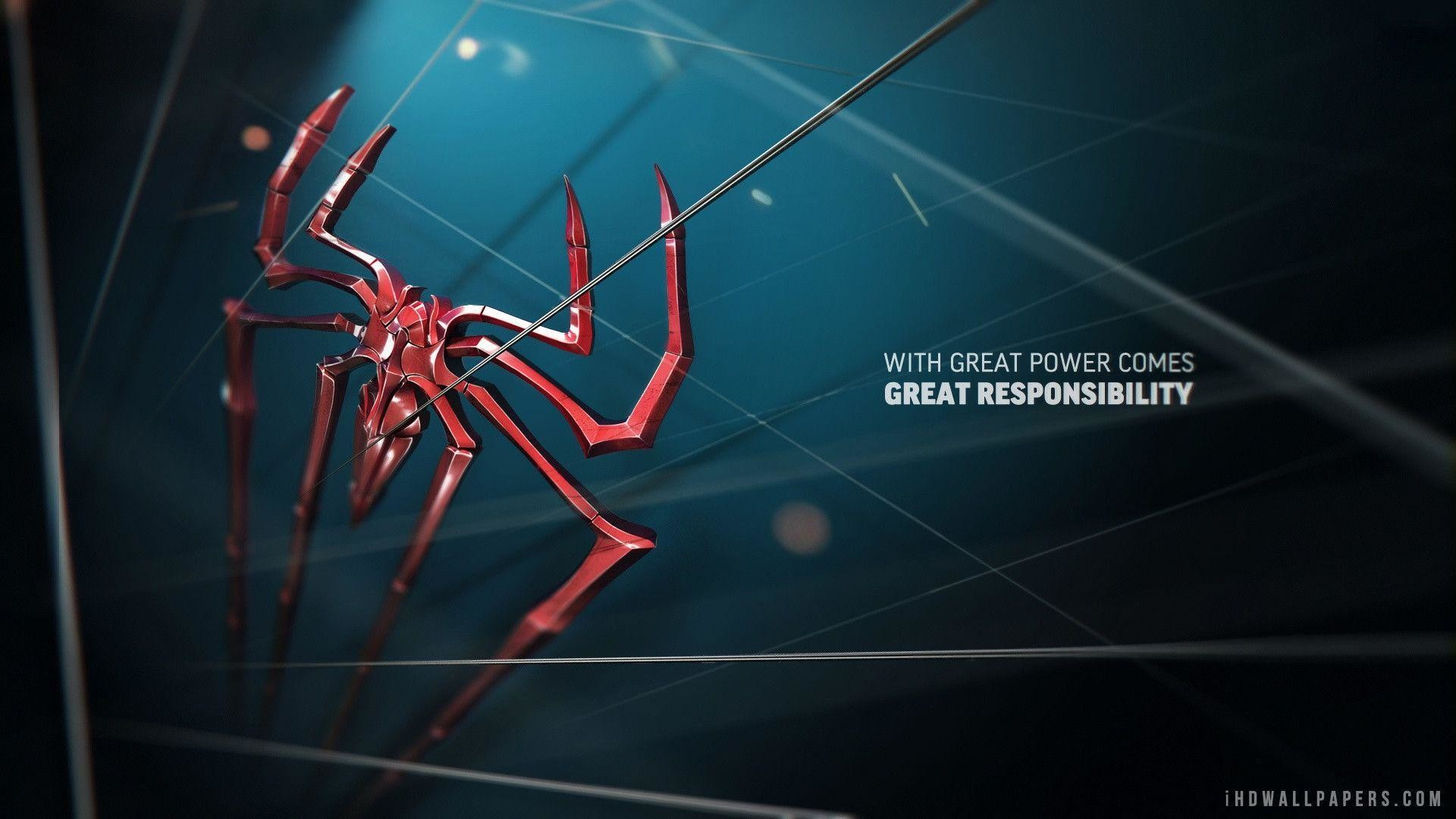 Wallpapers For > Spiderman Wallpaper Hd 1080p