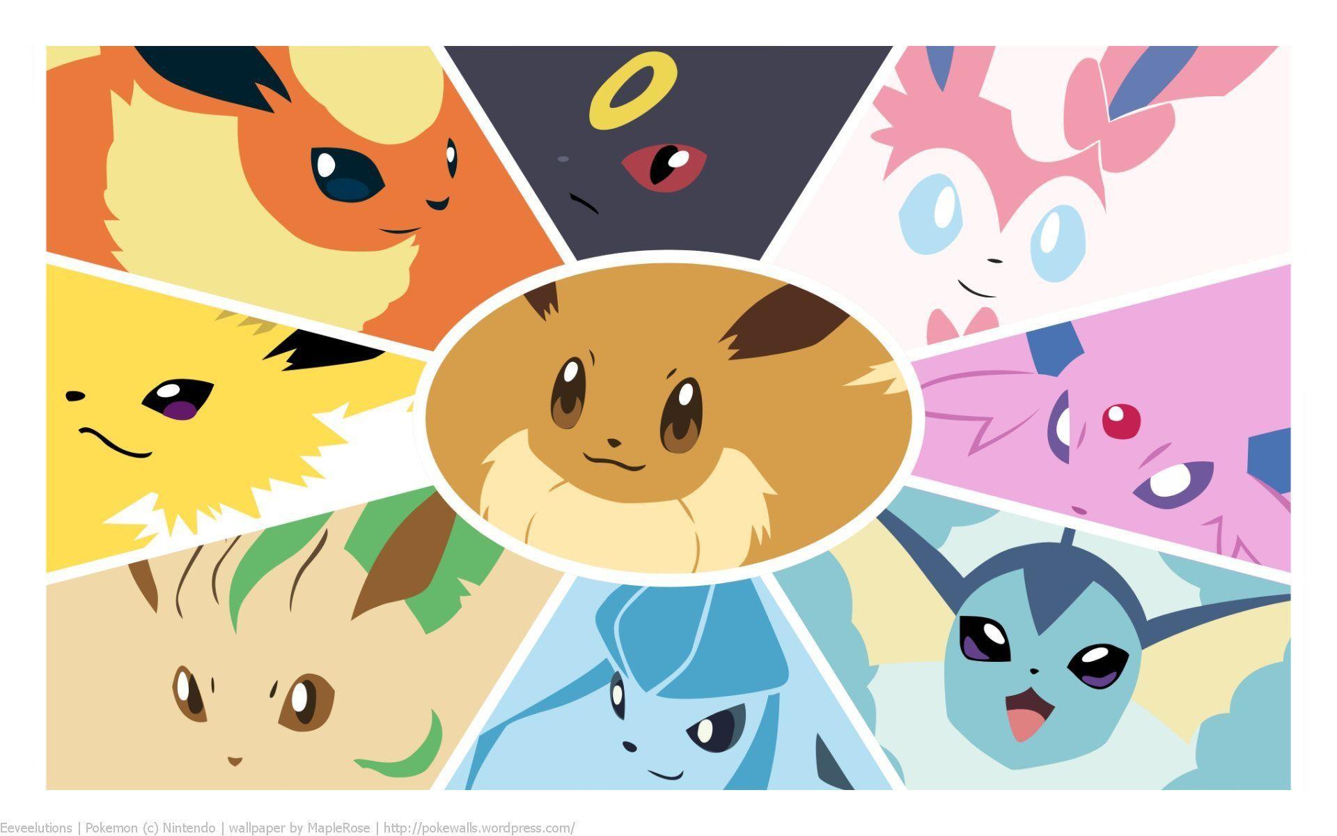 Wallpapers For > Pokemon Eevee Wallpaper