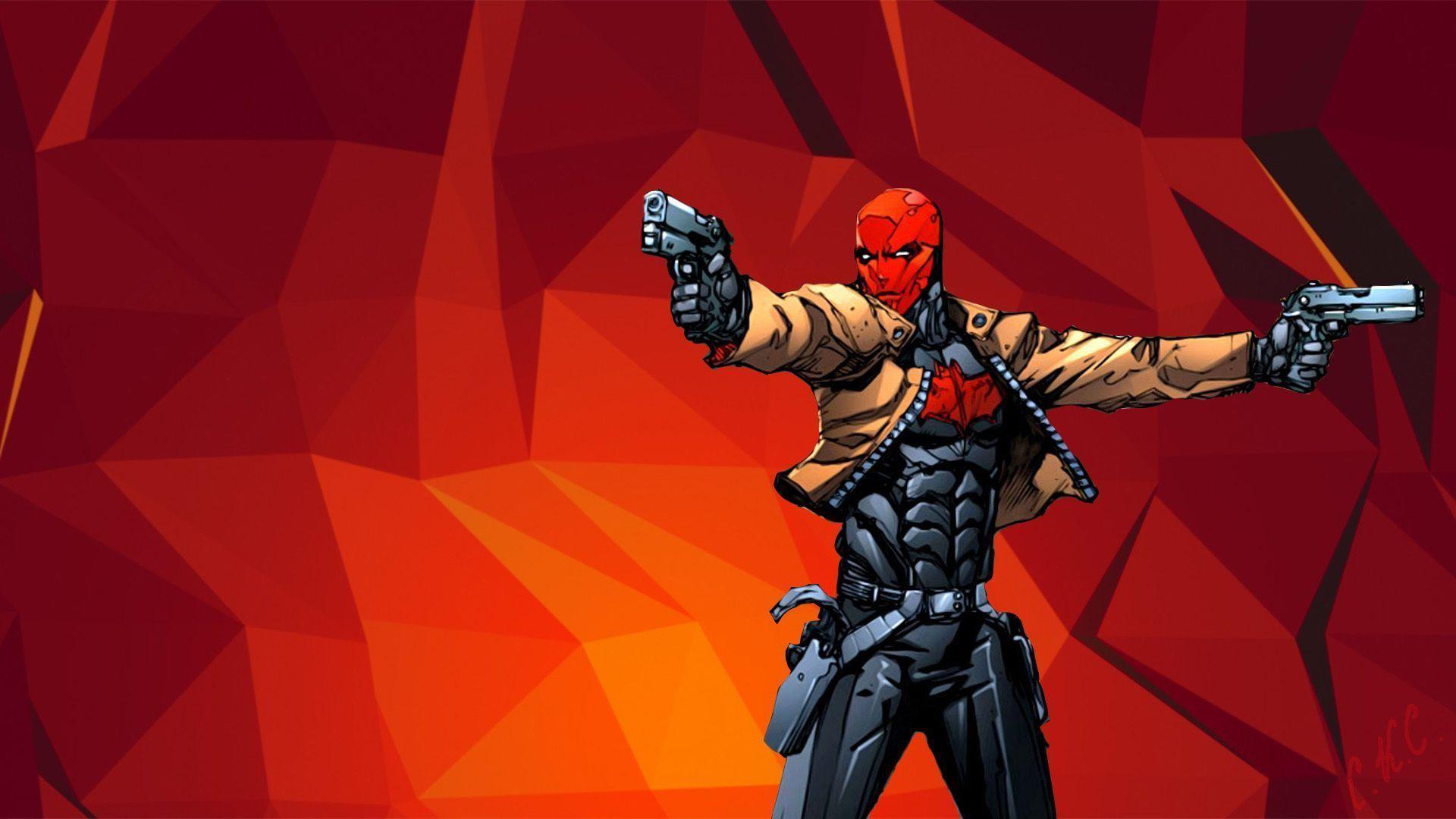 Download Wallpaper Weapons, Guns, Jason Todd, Red Hood, Jason Todd .