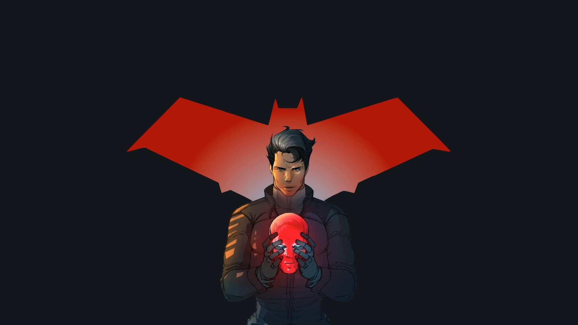 Another day, another wallpaper. We here at Word of the Nerd are proud to · Red  HoodHoodsThe NerdsSuperheroesJason ToddTeen …