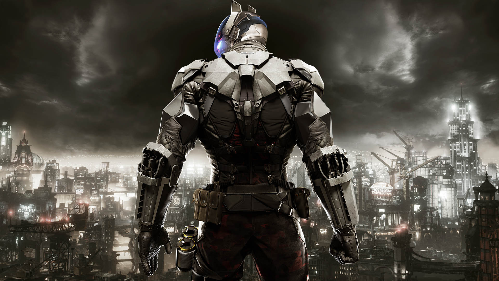 arkham knight – Google Search · Batman Arkham Knight  VillainsArmorsDarknessSoldiersKnightsWallpapersJason ToddRed HoodPunisher