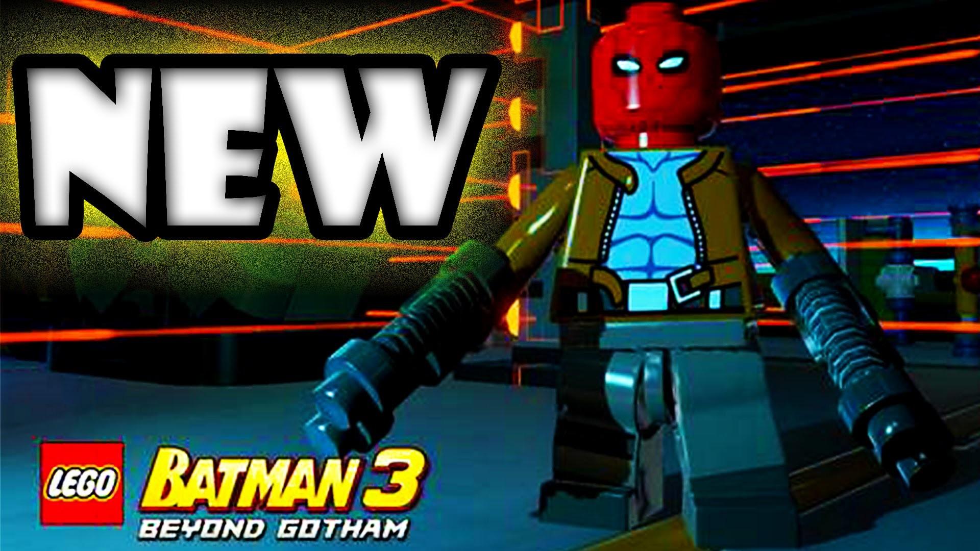 LEGO Batman 3 Red Hood Jason Todd! & Red Brick Idea? | Character Reveal  Countdown 4 – Beyond Gotham – YouTube