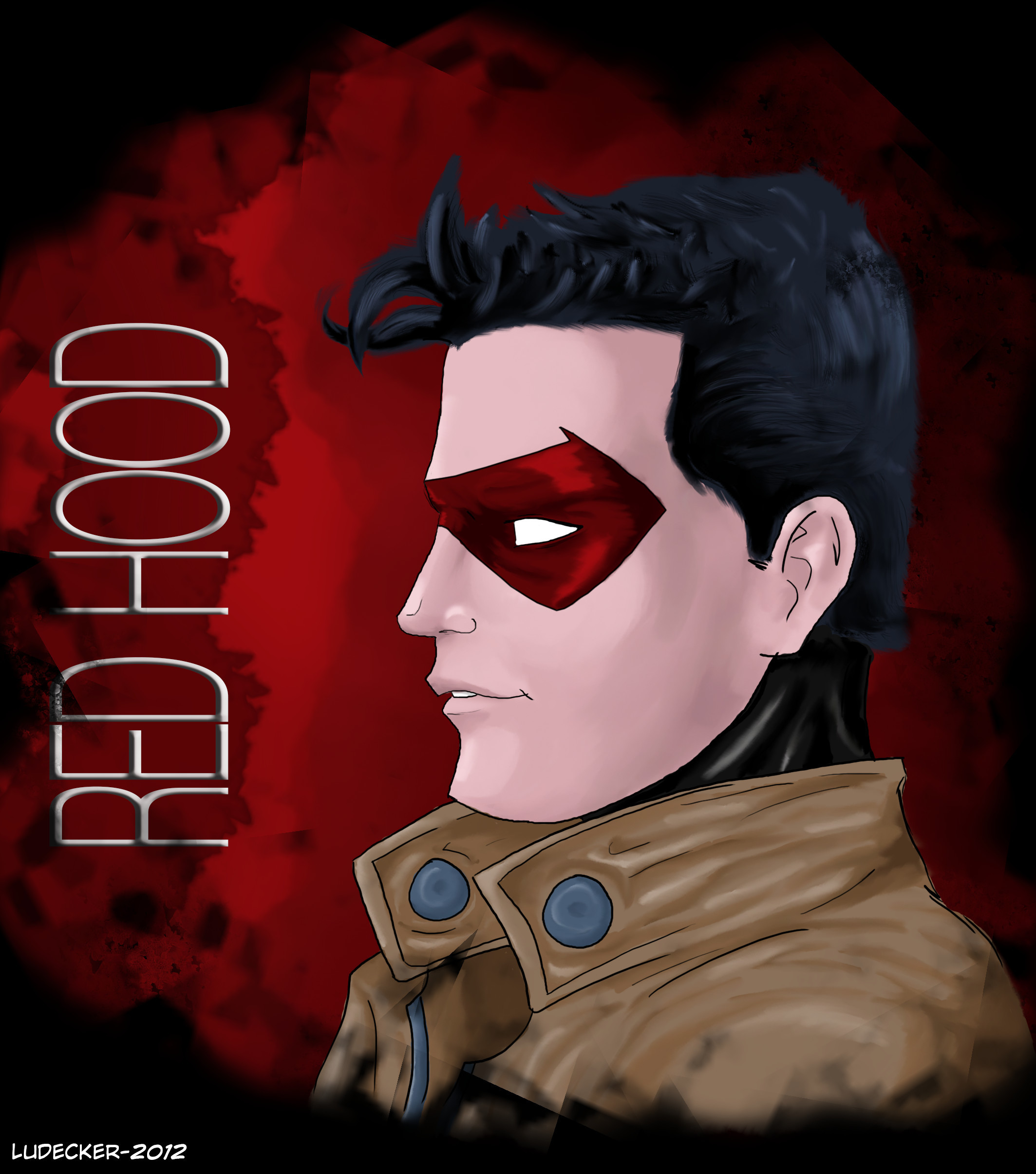 … Red Hood – Jason Todd by Totally-Raven