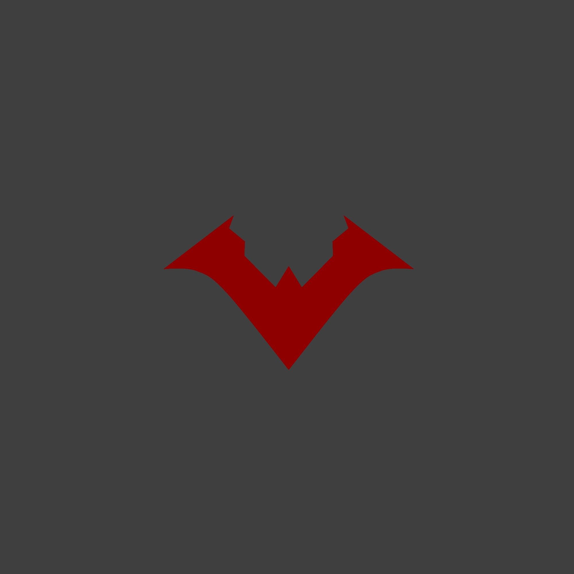 Nu 52 Nightwing logo wallpaper | Nightwing | Pinterest