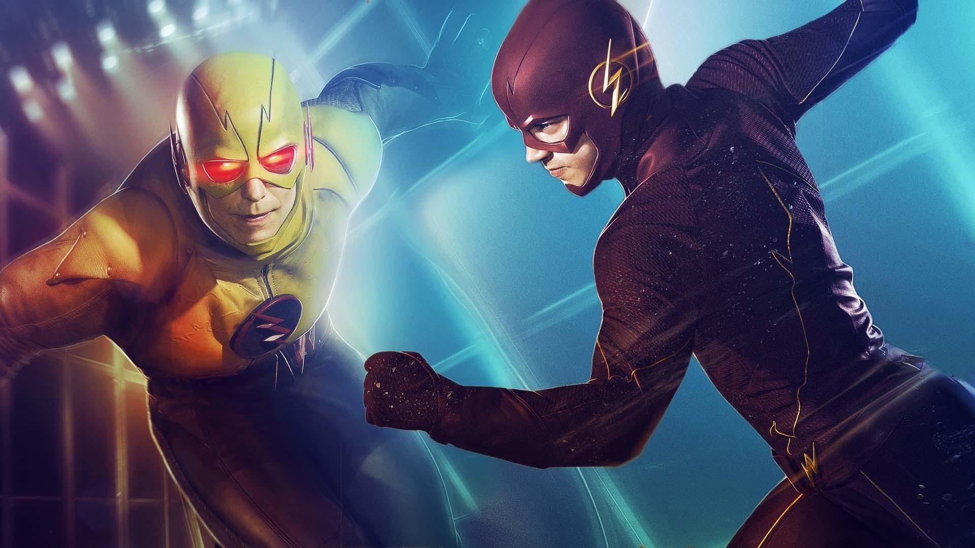TV Show – The Flash (2014) Tom Cavanagh Reverse-Flash Eobard Thawne Barry