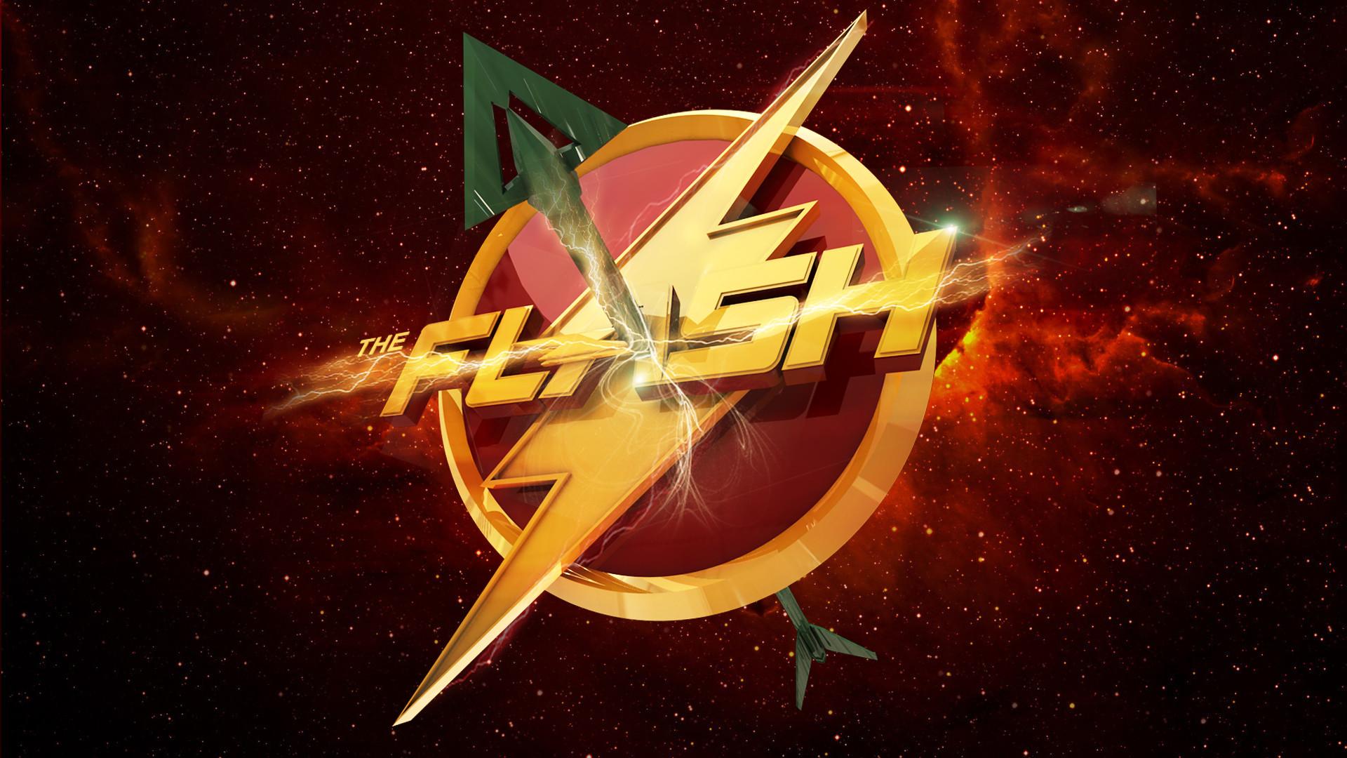 Arrow and Flash HD Wallpaper