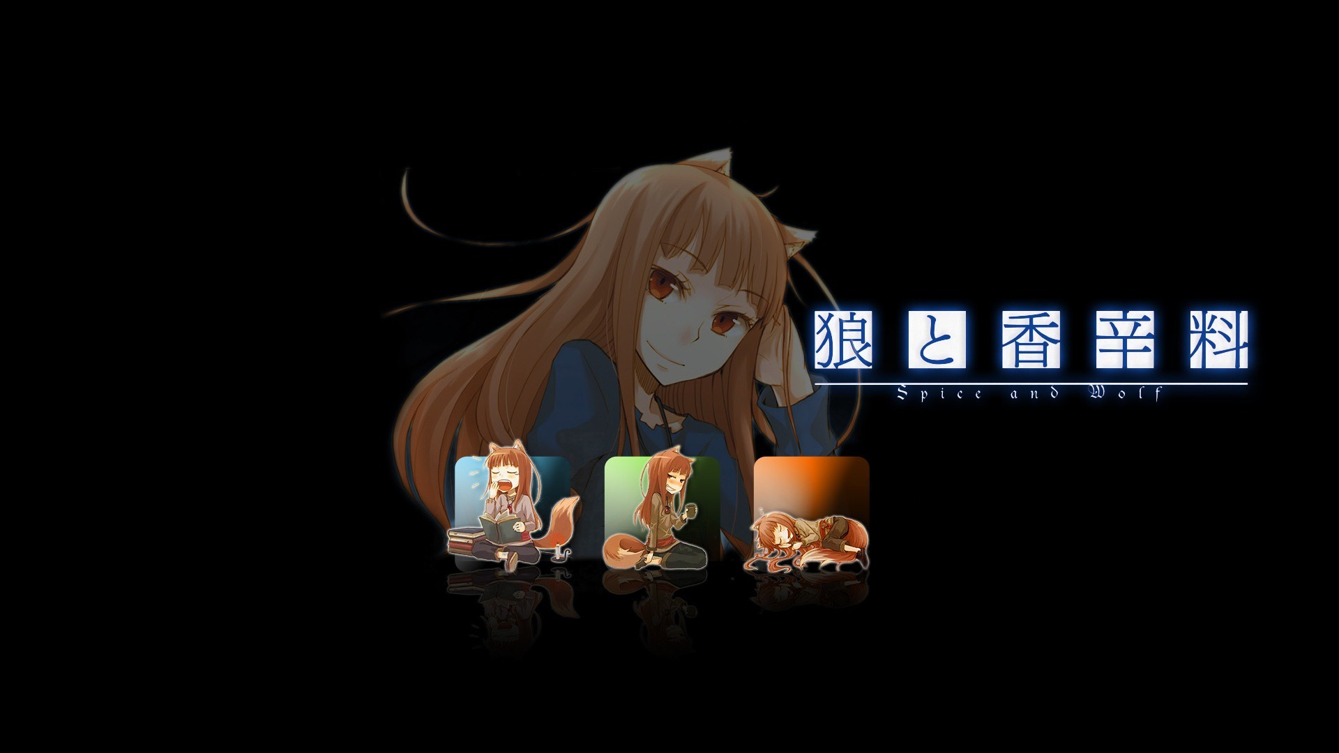 Spice and Wolf HD wallpapers #23 – 1920×1080.