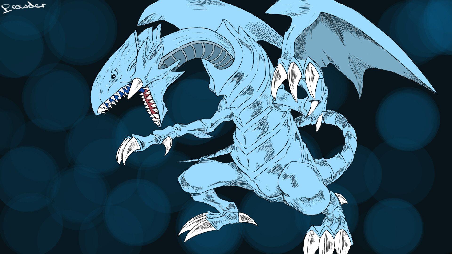 blue eyes white dragon wallpaper – viewing gallery