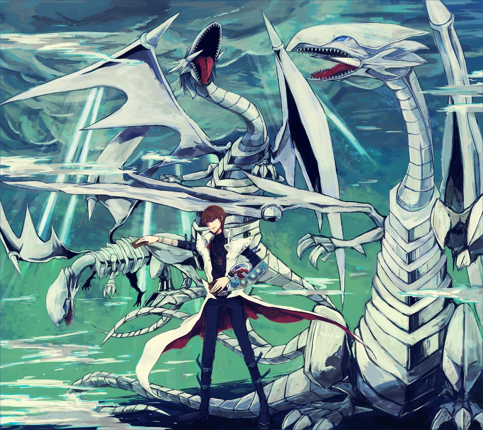 Duel Monsters Yu-Gi-Oh Kaiba Seto Blue Eyes White Dragon Dragon .
